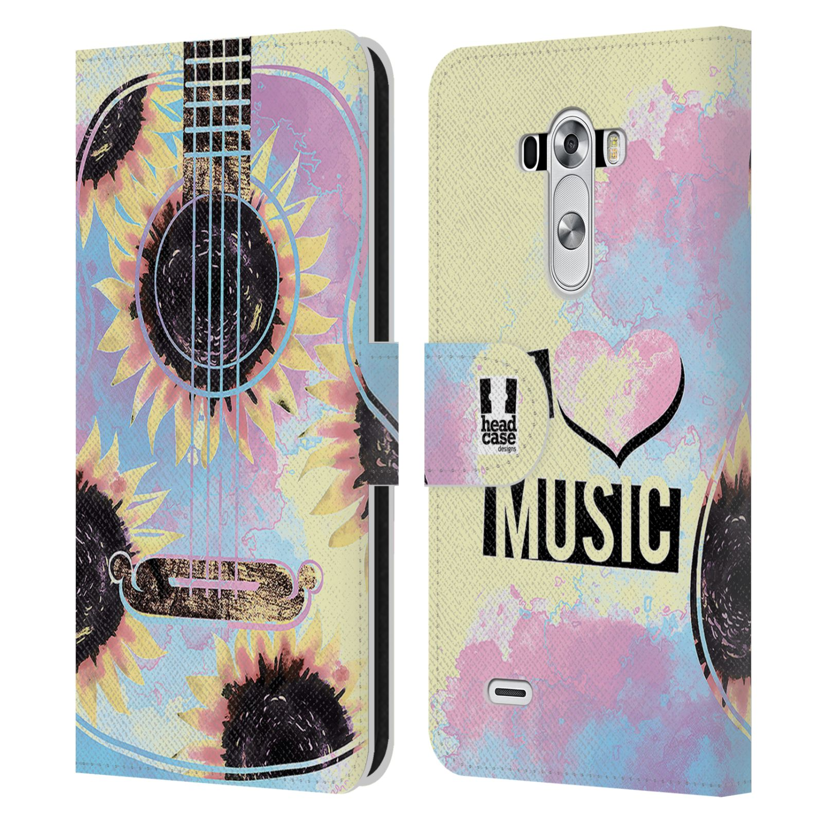 Music Book Cover Ideas : Head case designs all about music leather book wallet