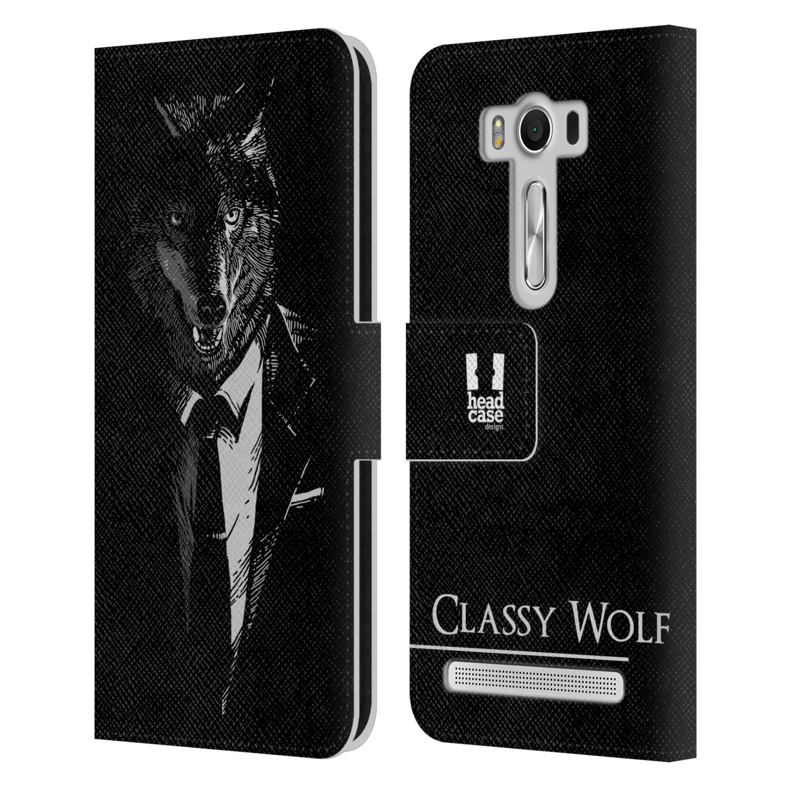 Pouzdro na mobil Asus Zenfone 2 Laser ZE500KL - Head Case - vlk v obleku