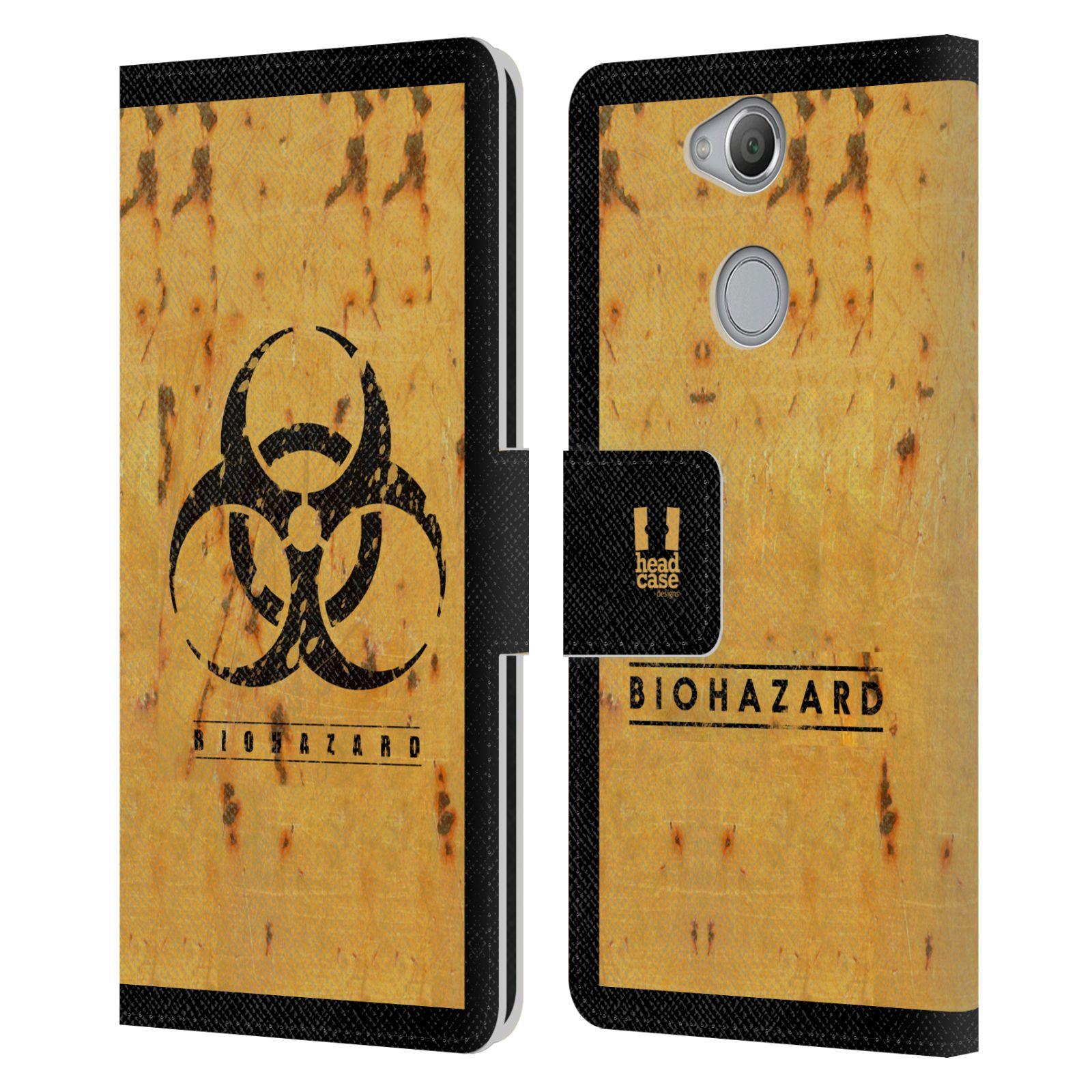 Pouzdro na mobil Sony Xperia XA2 - Head Case - Biohazard