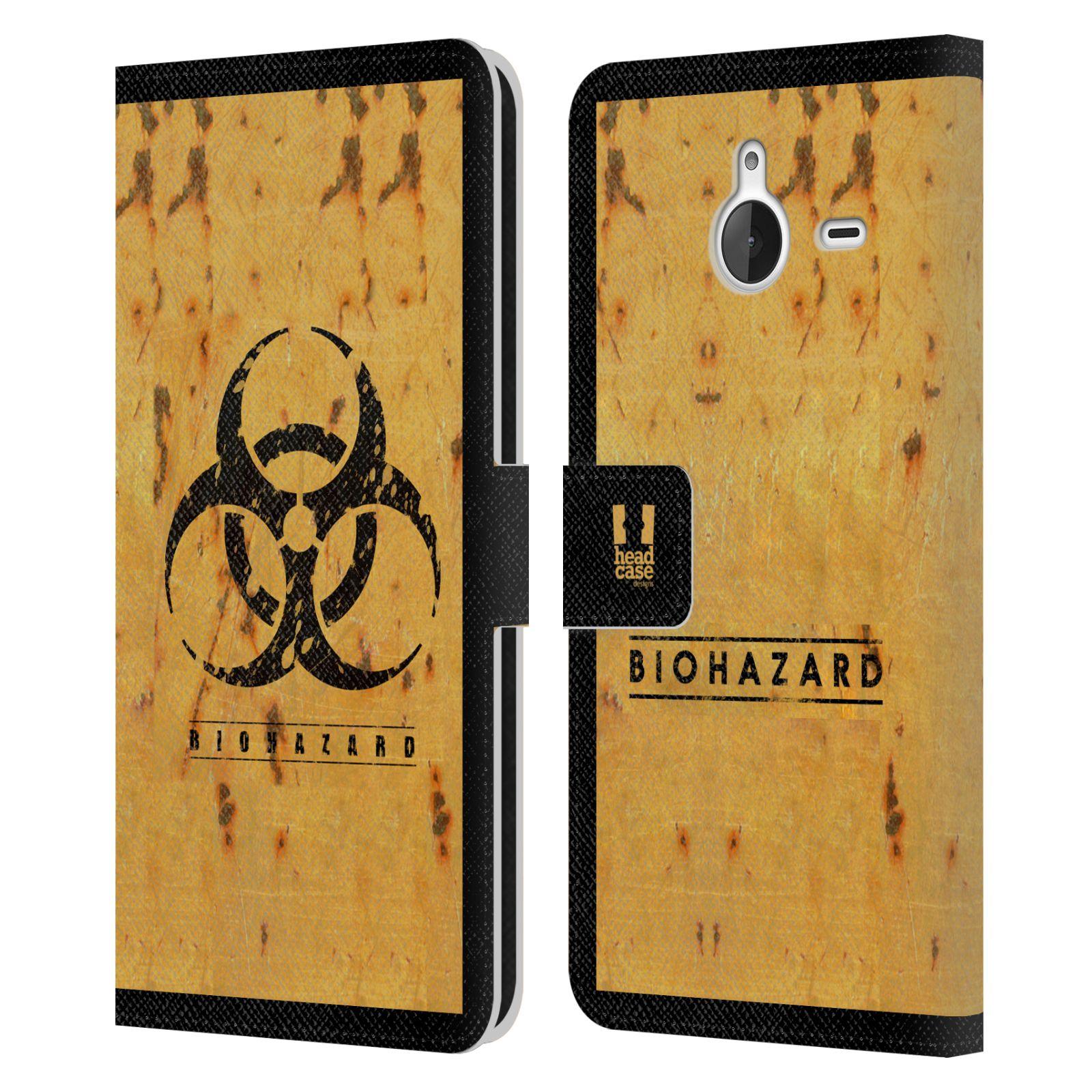 Pouzdro na mobil Nokia Lumia 640 XL - Head Case - Biohazard