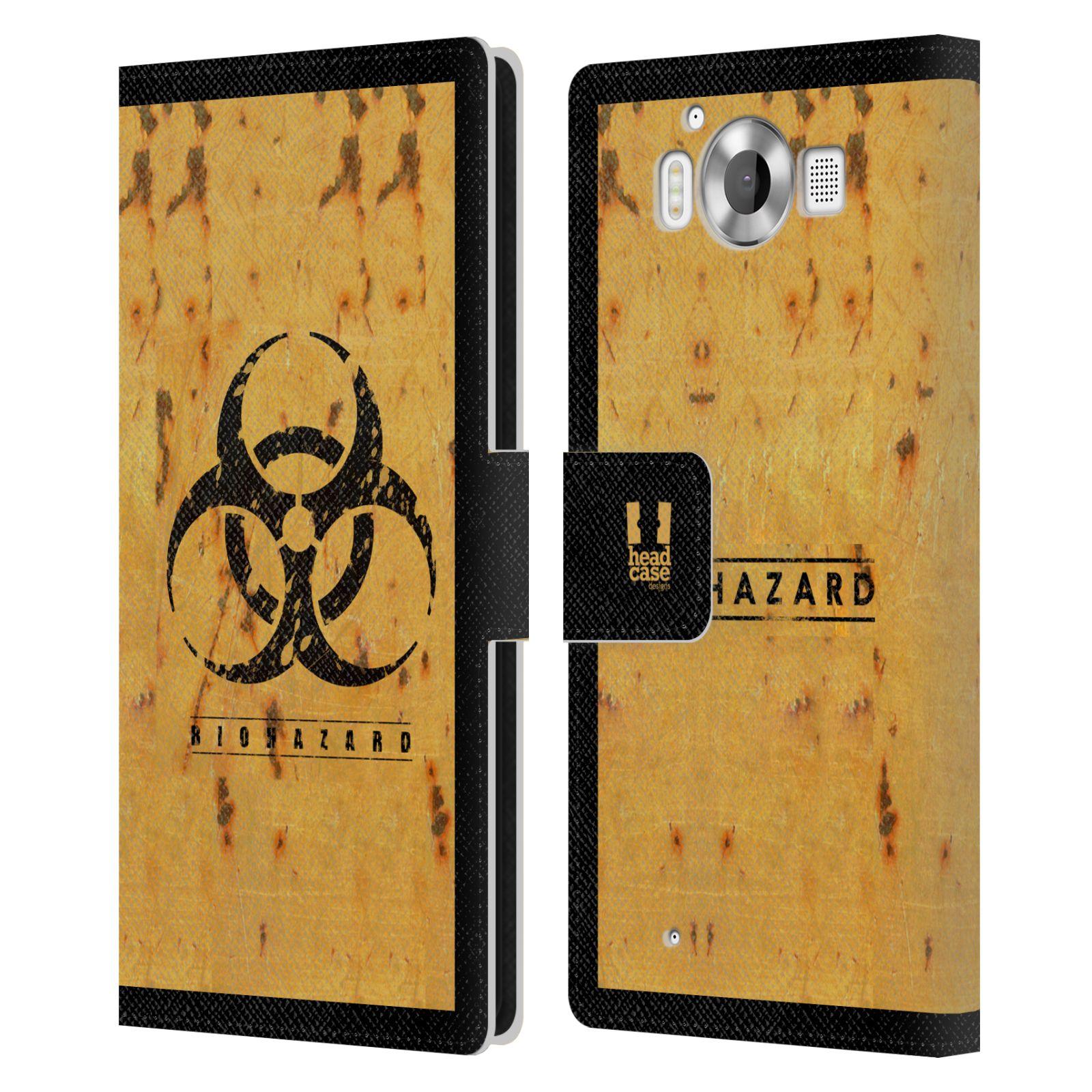 Pouzdro na mobil Nokia Lumia 950 - Head Case - Biohazard