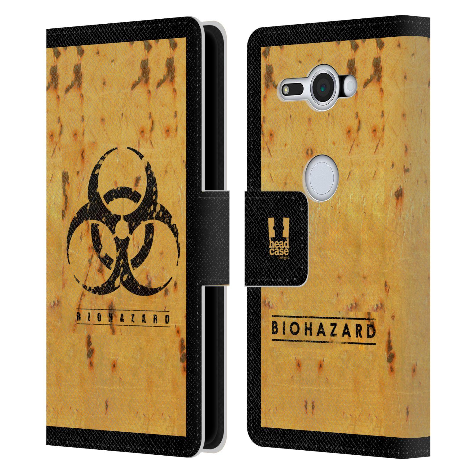 Pouzdro na mobil Sony Xperia XZ2 Compact - Head Case - Biohazard