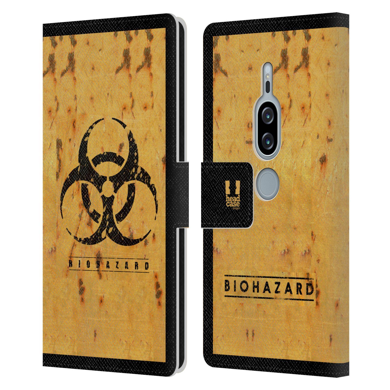Pouzdro na mobil Sony Xperia XZ2 Premium - Head Case - Biohazard