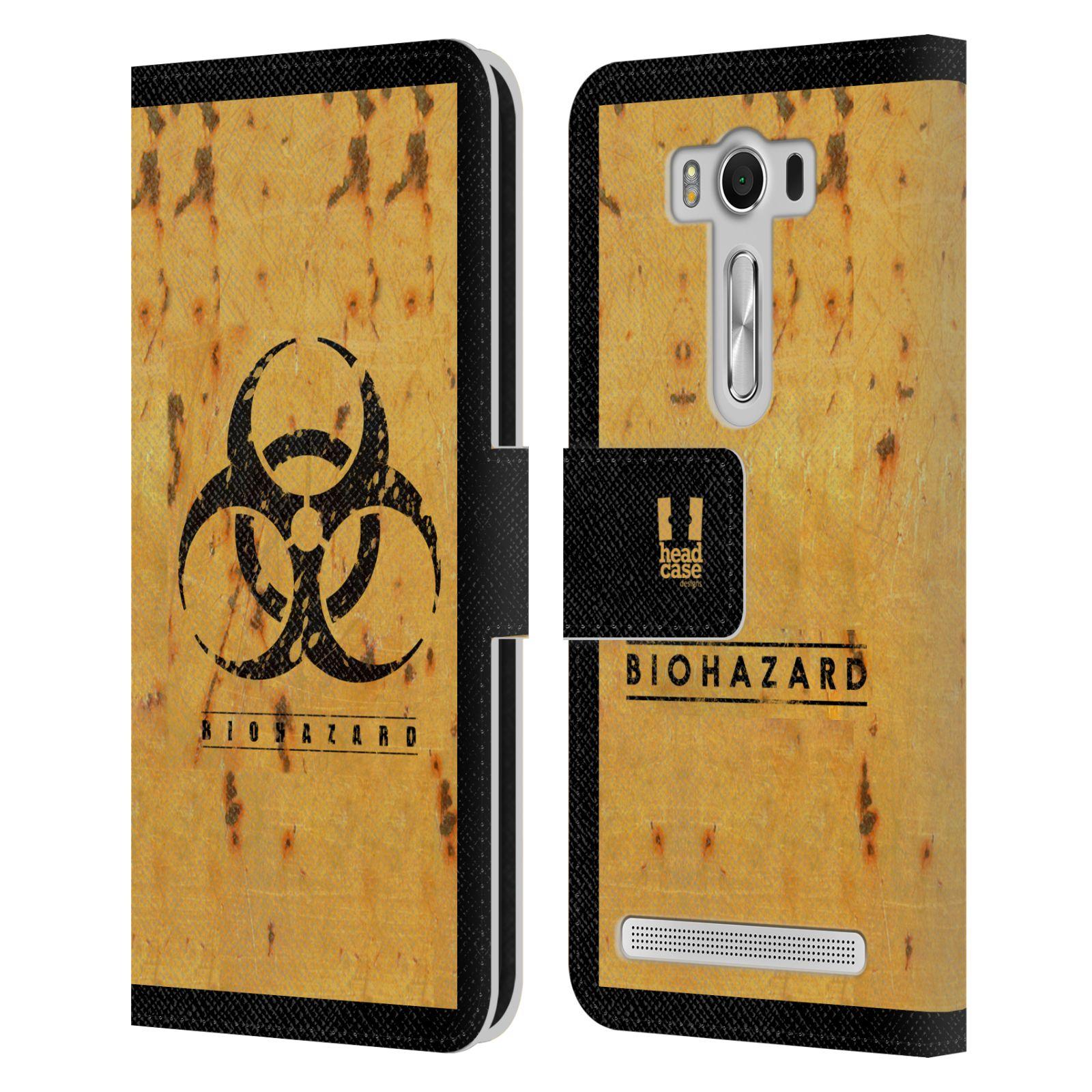 Pouzdro na mobil Asus Zenfone 2 Laser ZE500KL - Head Case - Biohazard