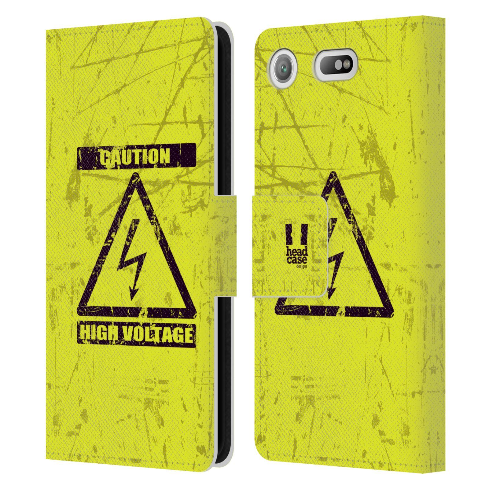Pouzdro na mobil Sony Xperia XZ1 Compact - Head Case - Vysoké napětí