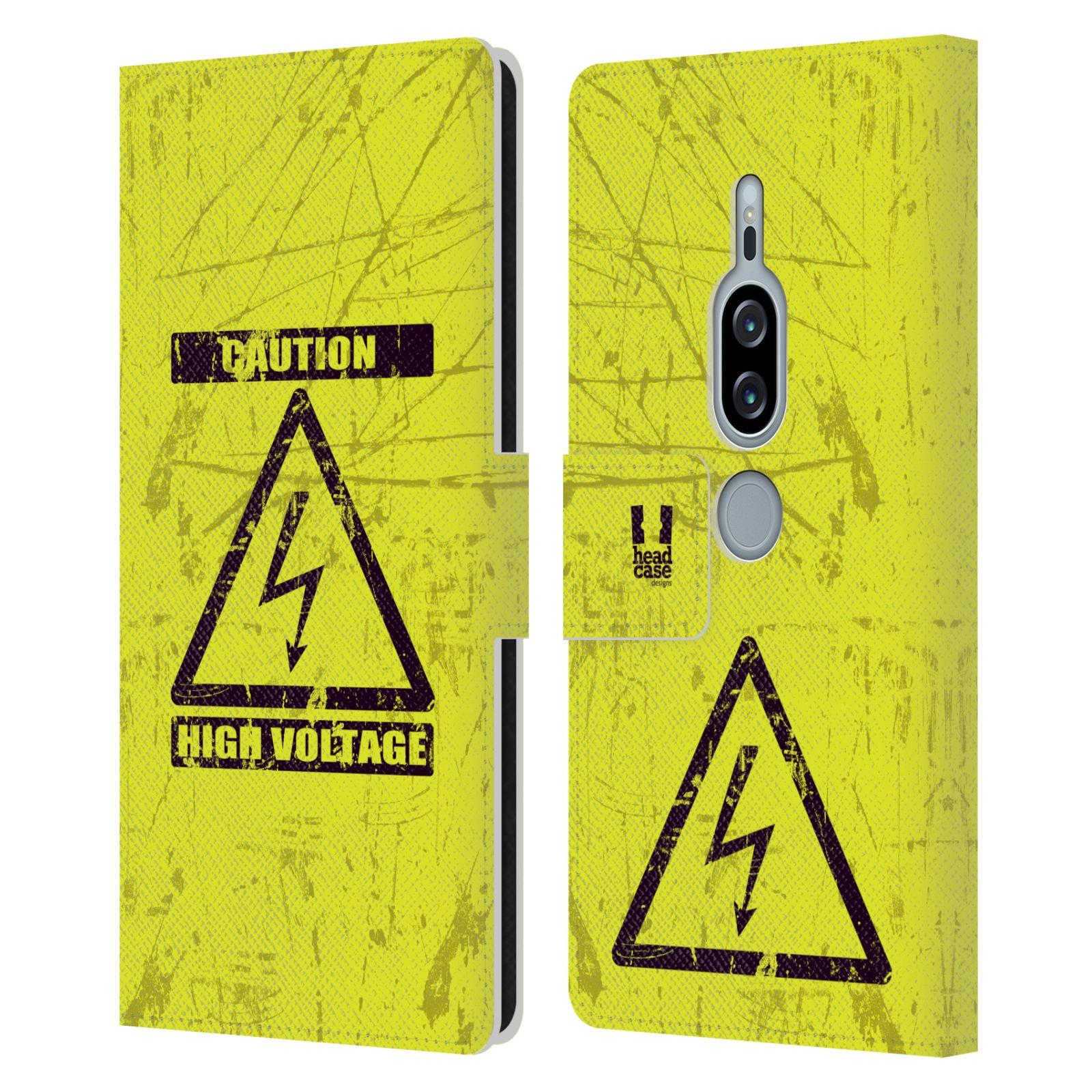 Pouzdro na mobil Sony Xperia XZ2 Premium - Head Case - Vysoké napětí
