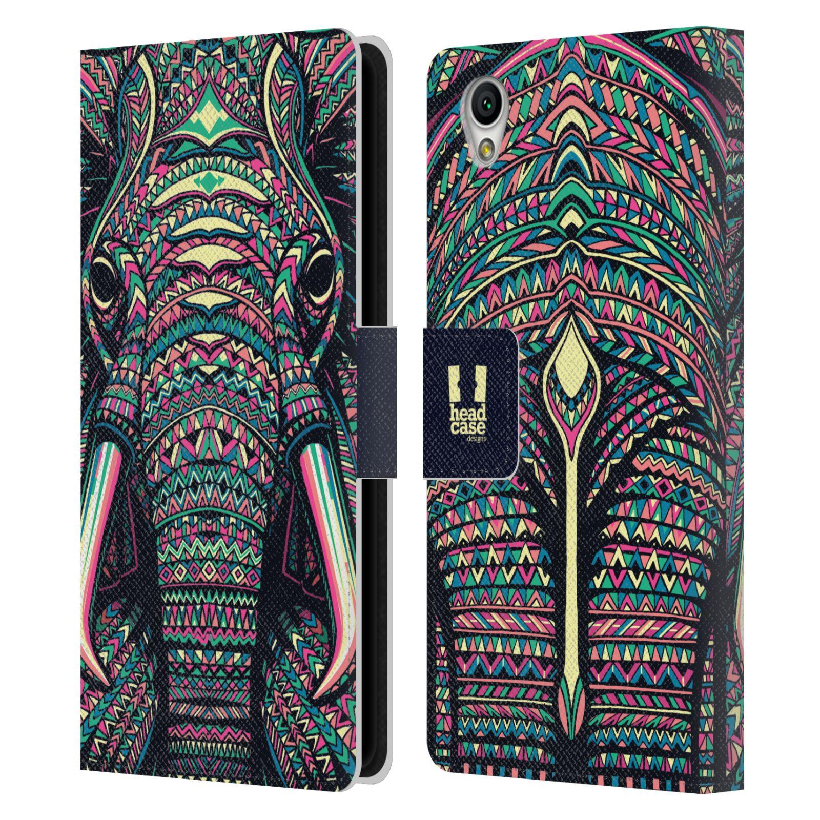 Pouzdro na mobil Sony Xperia L1 - Head Case - Aztécký slon