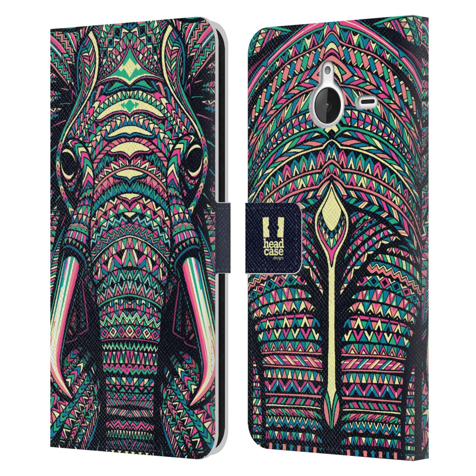 Pouzdro na mobil Nokia Lumia 640 XL - Head Case - Aztécký slon