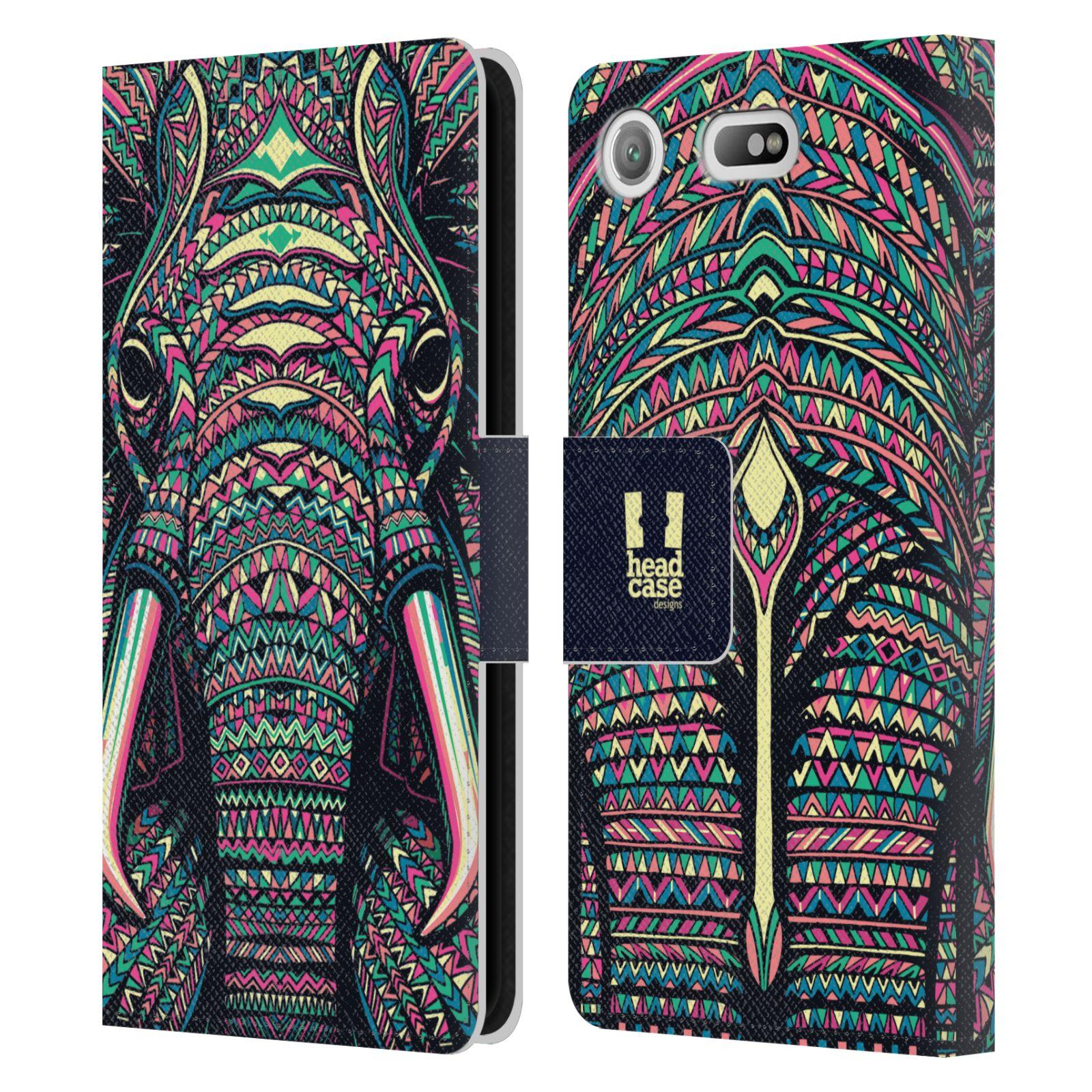 Pouzdro na mobil Sony Xperia XZ1 Compact - Head Case - Aztécký slon