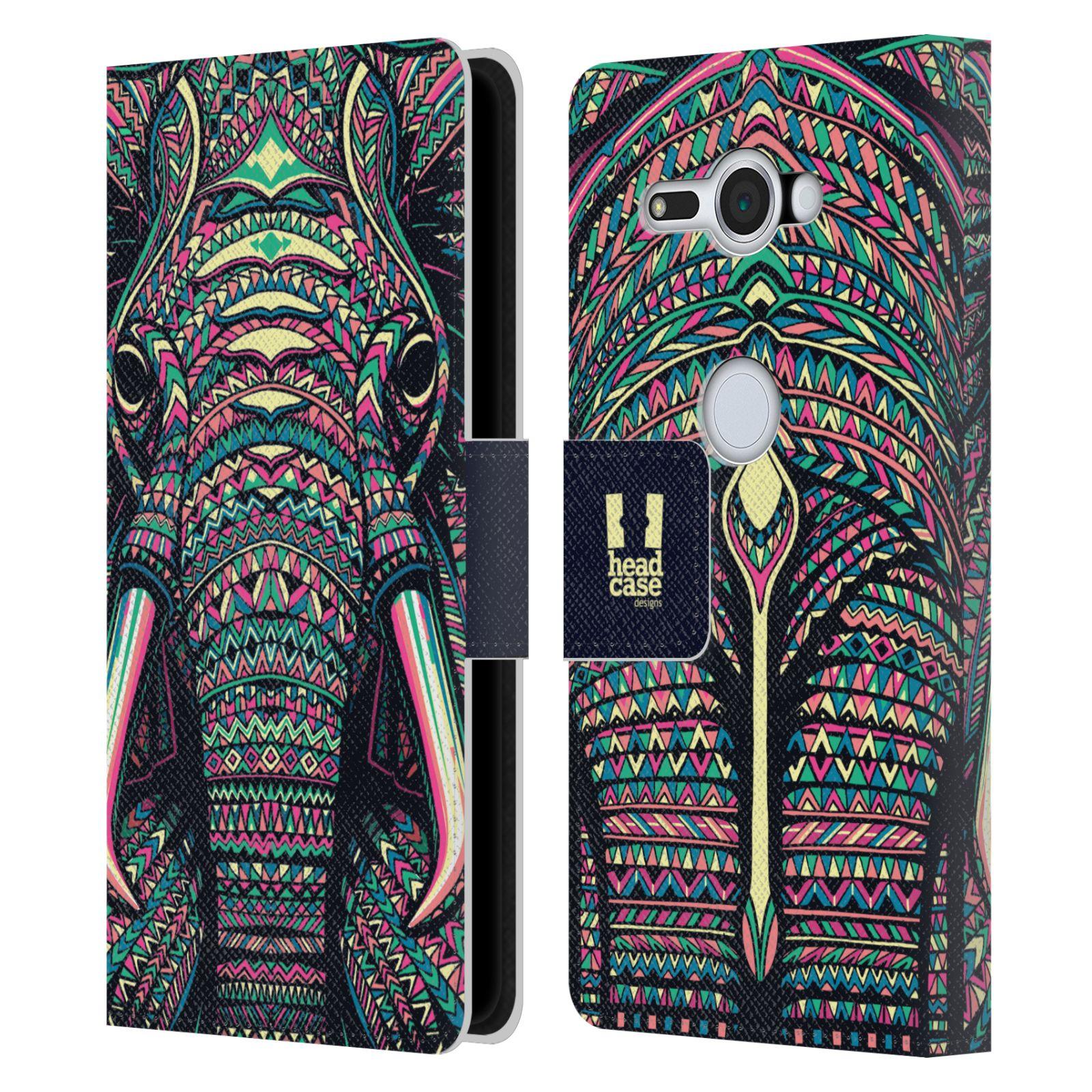 Pouzdro na mobil Sony Xperia XZ2 Compact - Head Case - Aztécký slon