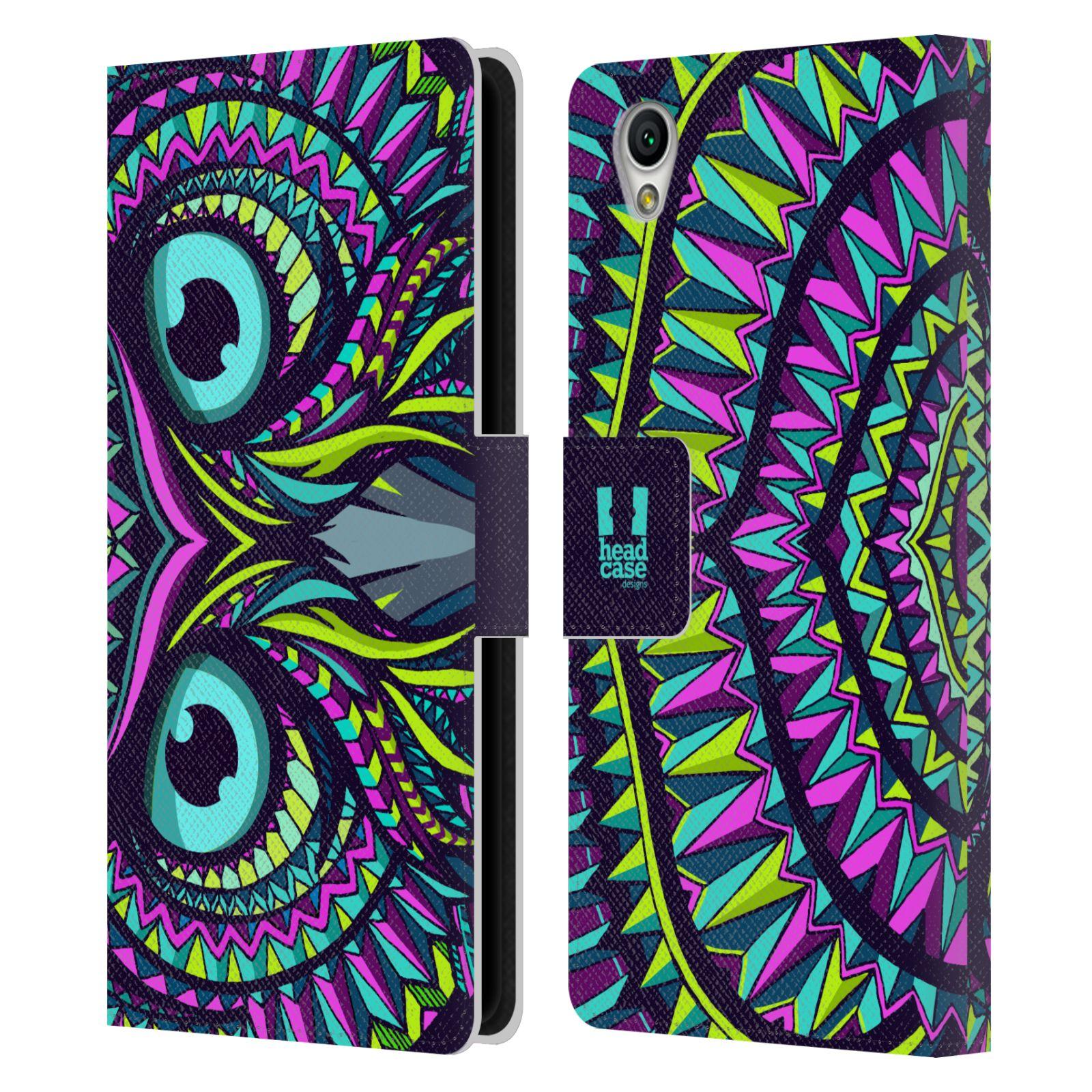 Pouzdro na mobil Sony Xperia L1 - Head Case - Aztécký vzor sova