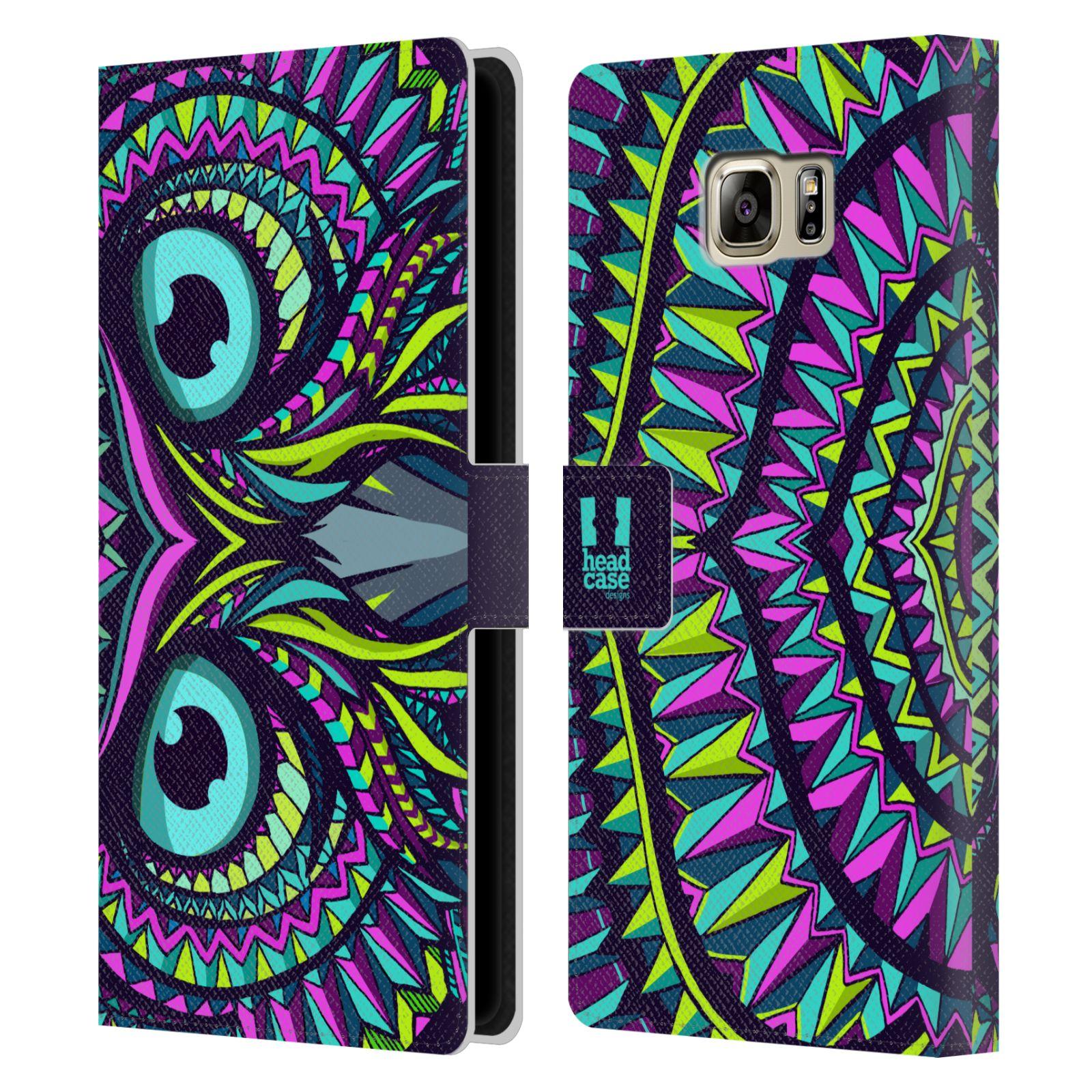 Pouzdro na mobil Samsung Galaxy NOTE 5 - Head Case - Aztécký vzor sova