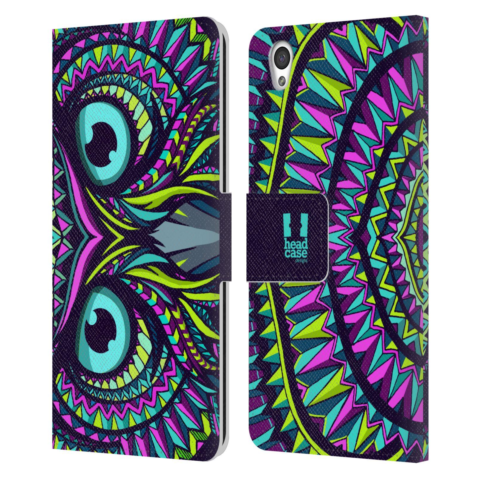 Pouzdro na mobil OnePlus X - Head Case - Aztécký vzor sova
