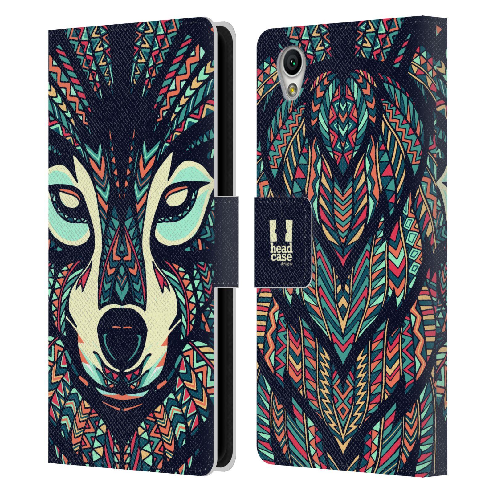 Pouzdro na mobil Sony Xperia L1 - Head Case - Aztécký vlk