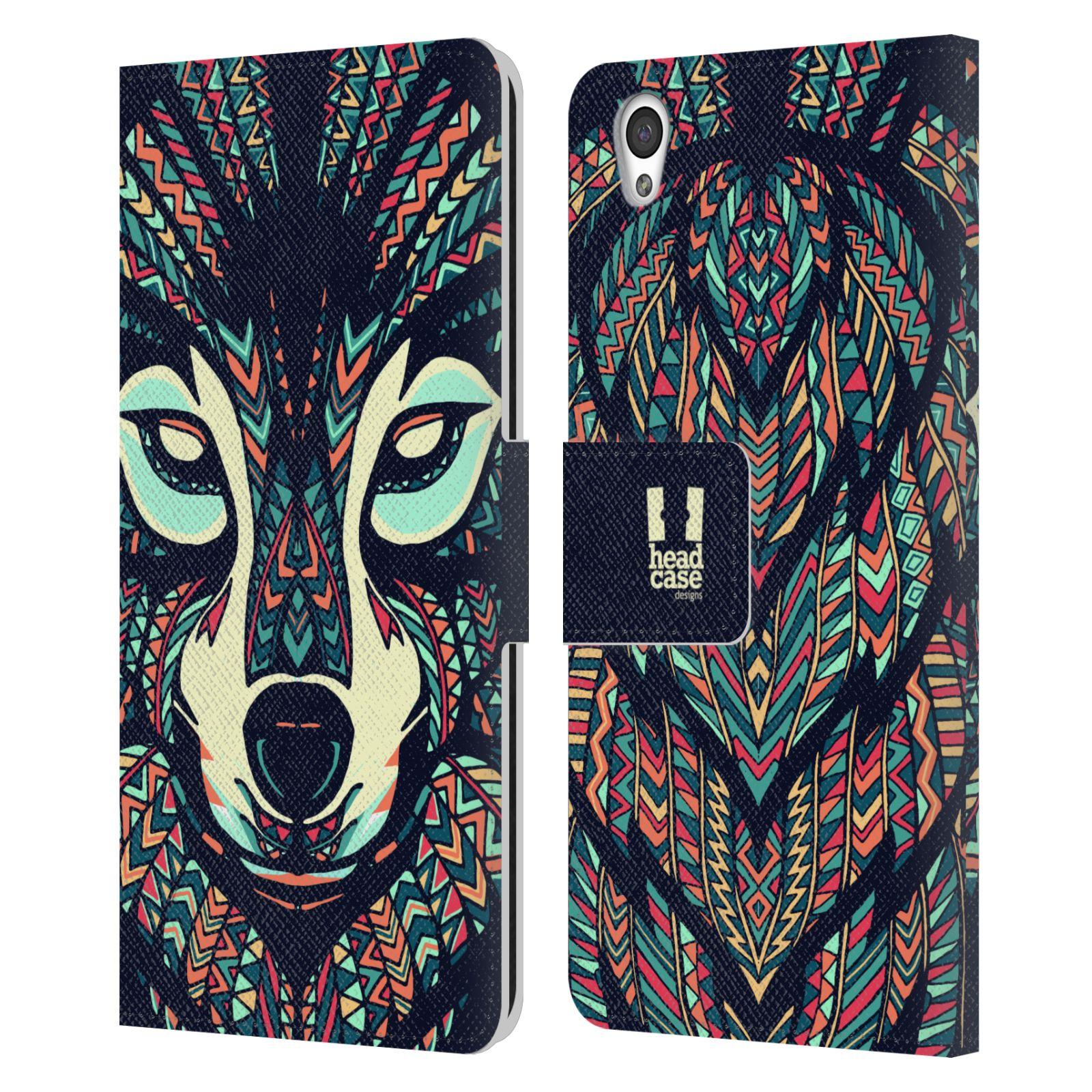 Pouzdro na mobil OnePlus X - Head Case - Aztécký vlk