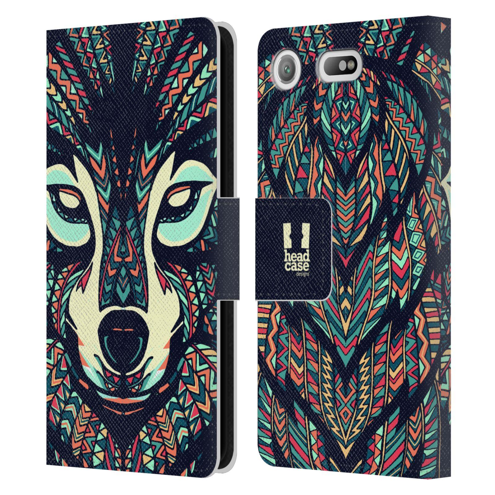 Pouzdro na mobil Sony Xperia XZ1 Compact - Head Case - Aztécký vlk