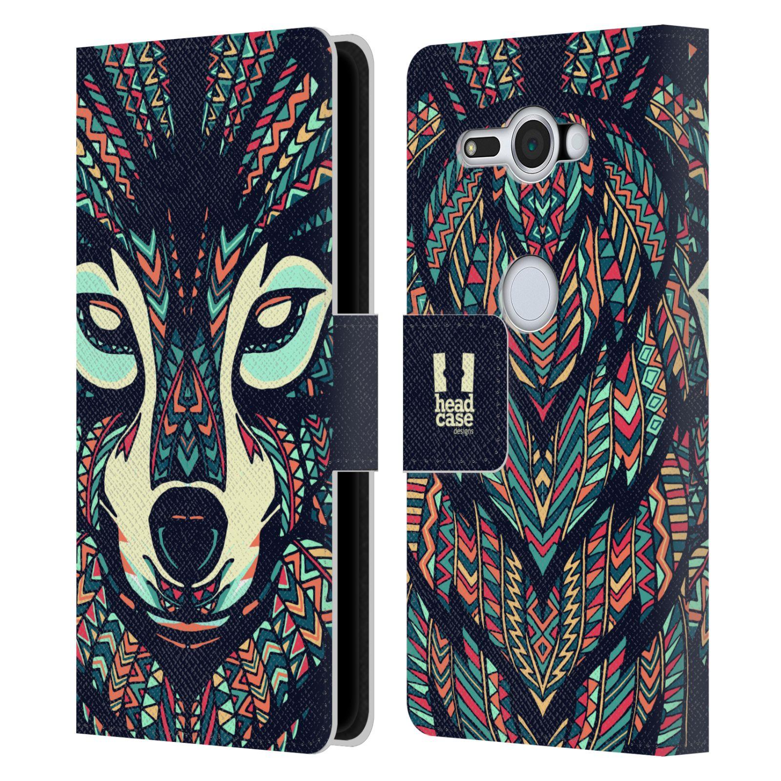 Pouzdro na mobil Sony Xperia XZ2 Compact - Head Case - Aztécký vlk