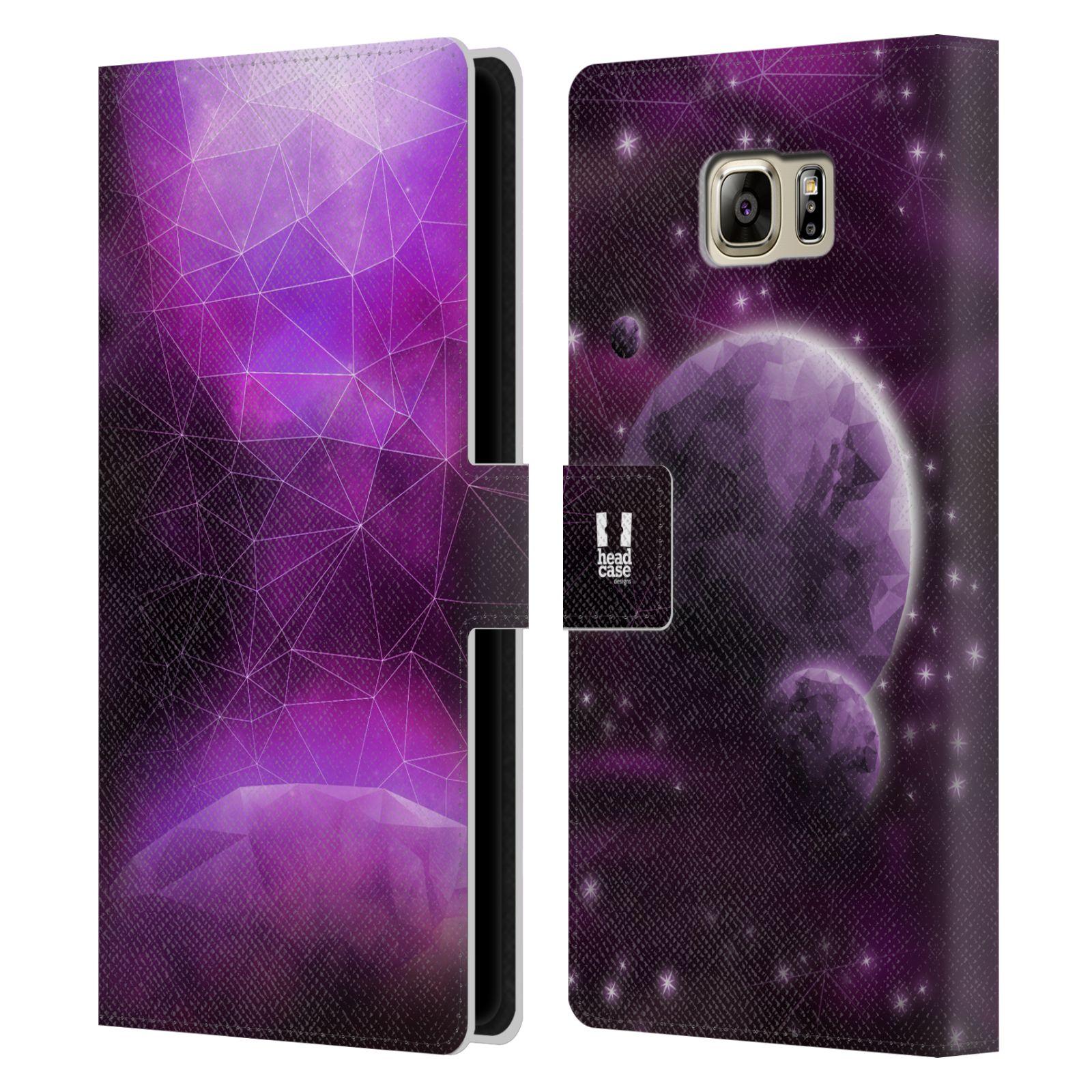 Pouzdro na mobil Samsung Galaxy NOTE 5 - Head Case - planeta vesmír fialová