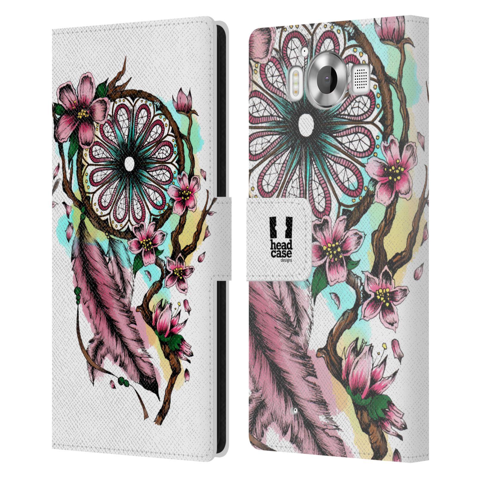 Pouzdro na mobil Nokia Lumia 950 - Head Case - Lapač snů květy fialová