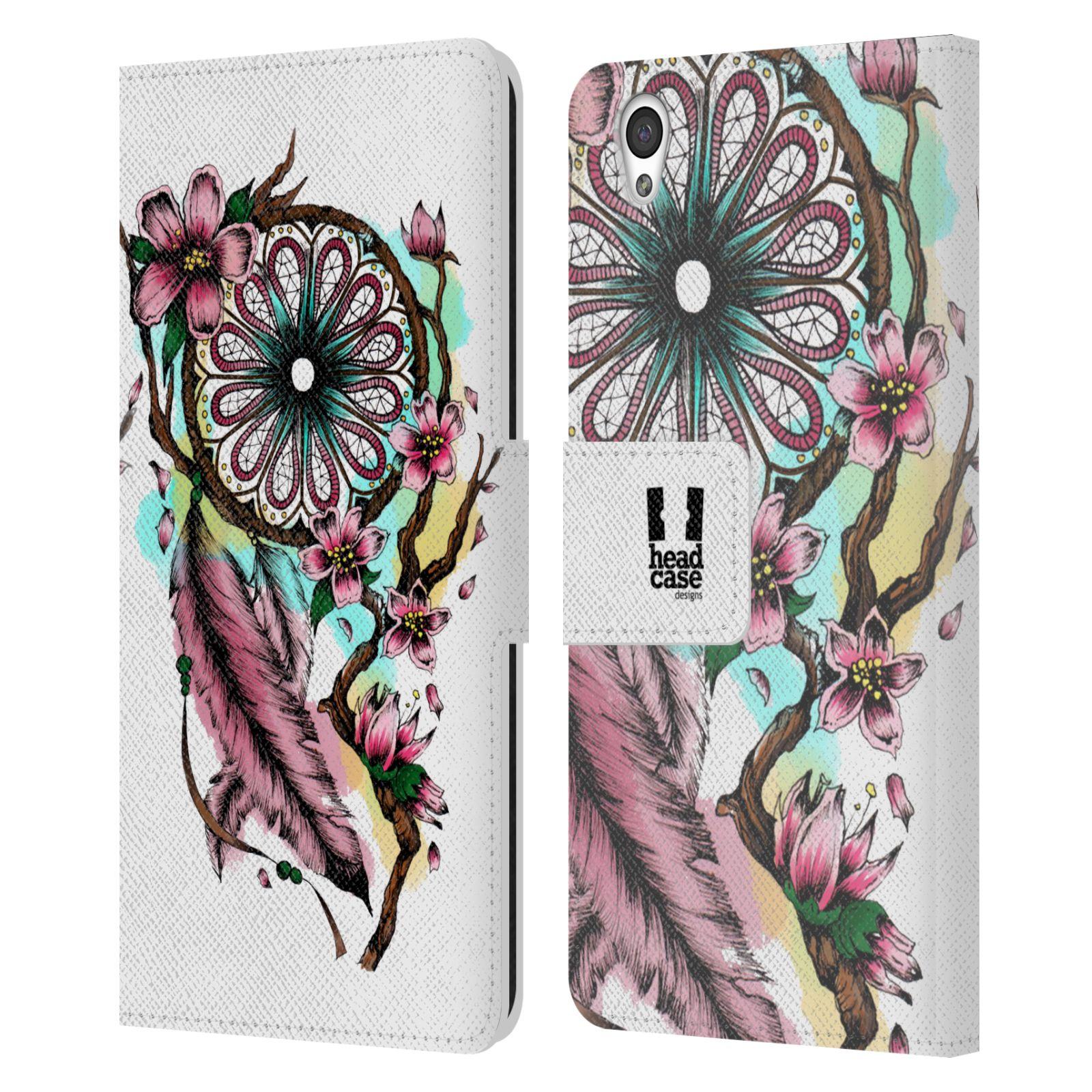 Pouzdro na mobil OnePlus X - Head Case - Lapač snů květy fialová