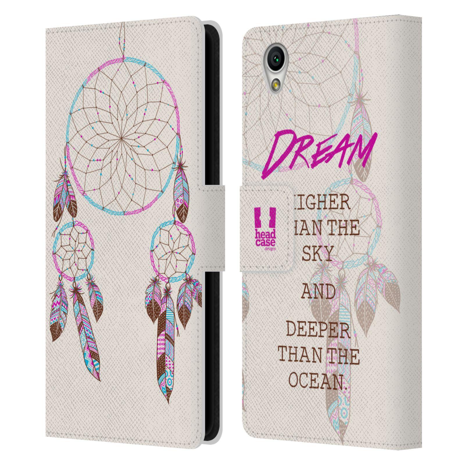 Pouzdro na mobil Sony Xperia L1 - Head Case - Lapač snů fialová dream