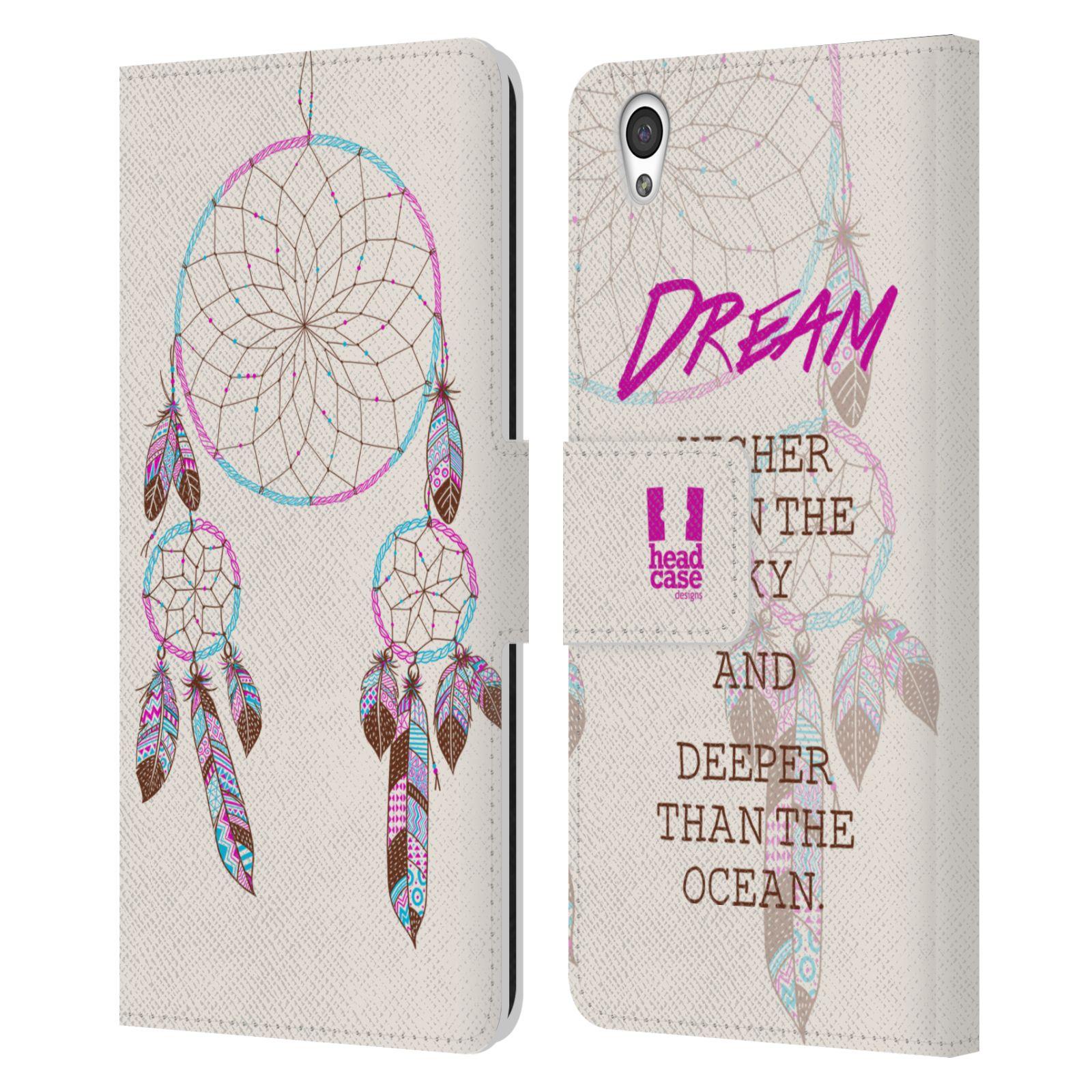 Pouzdro na mobil OnePlus X - Head Case - Lapač snů fialová dream