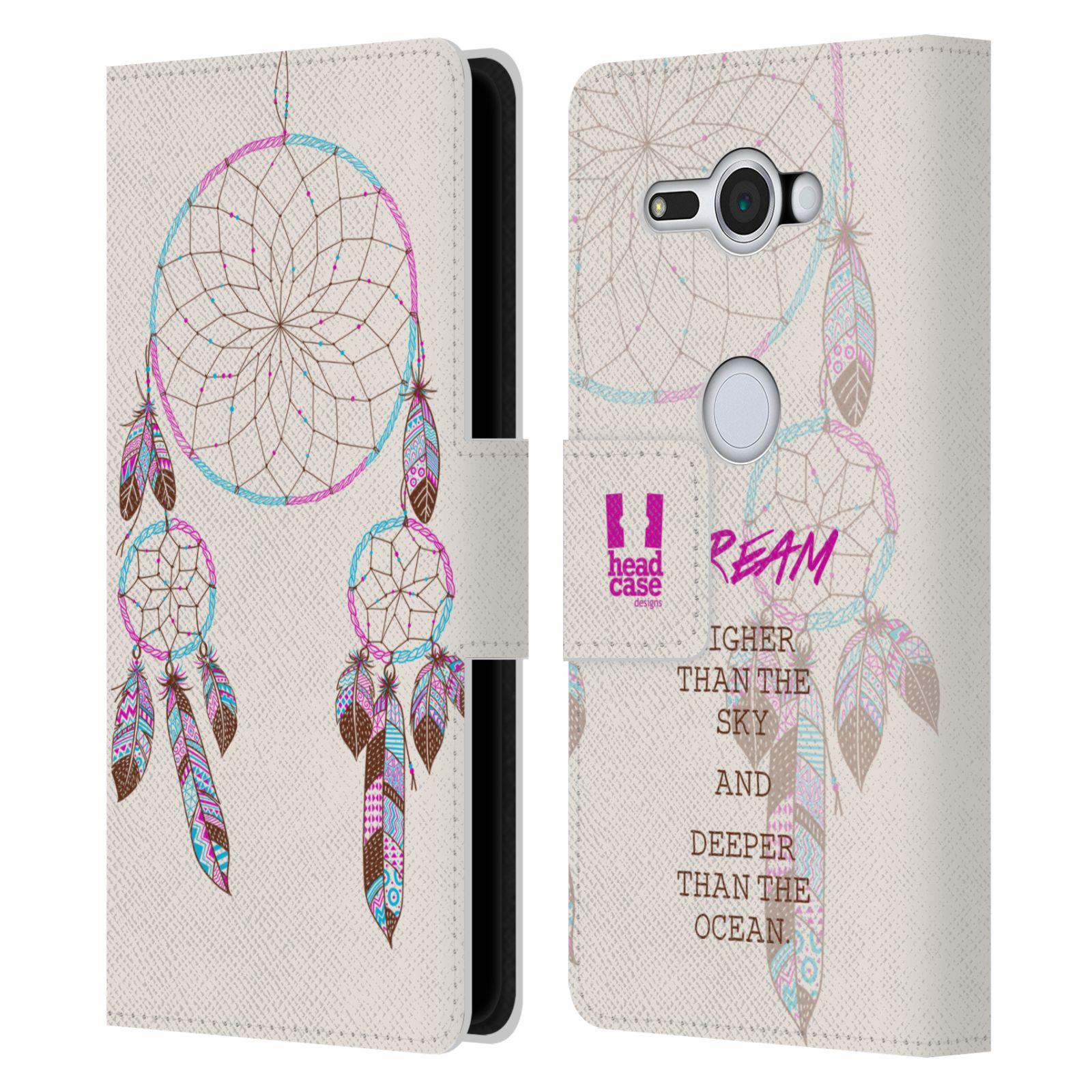 Pouzdro na mobil Sony Xperia XZ2 Compact - Head Case - Lapač snů fialová dream