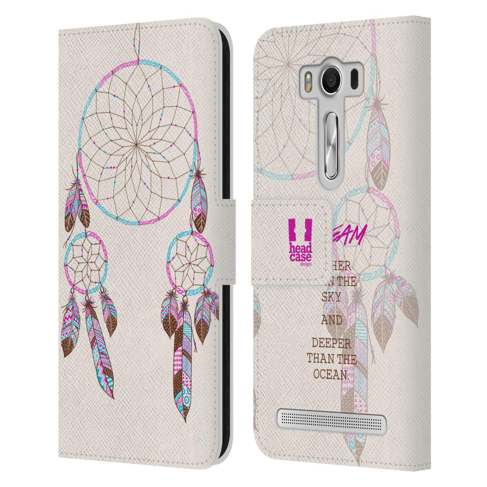 Pouzdro na mobil Asus Zenfone 2 Laser ZE500KL - Head Case - Lapač snů fialová dream
