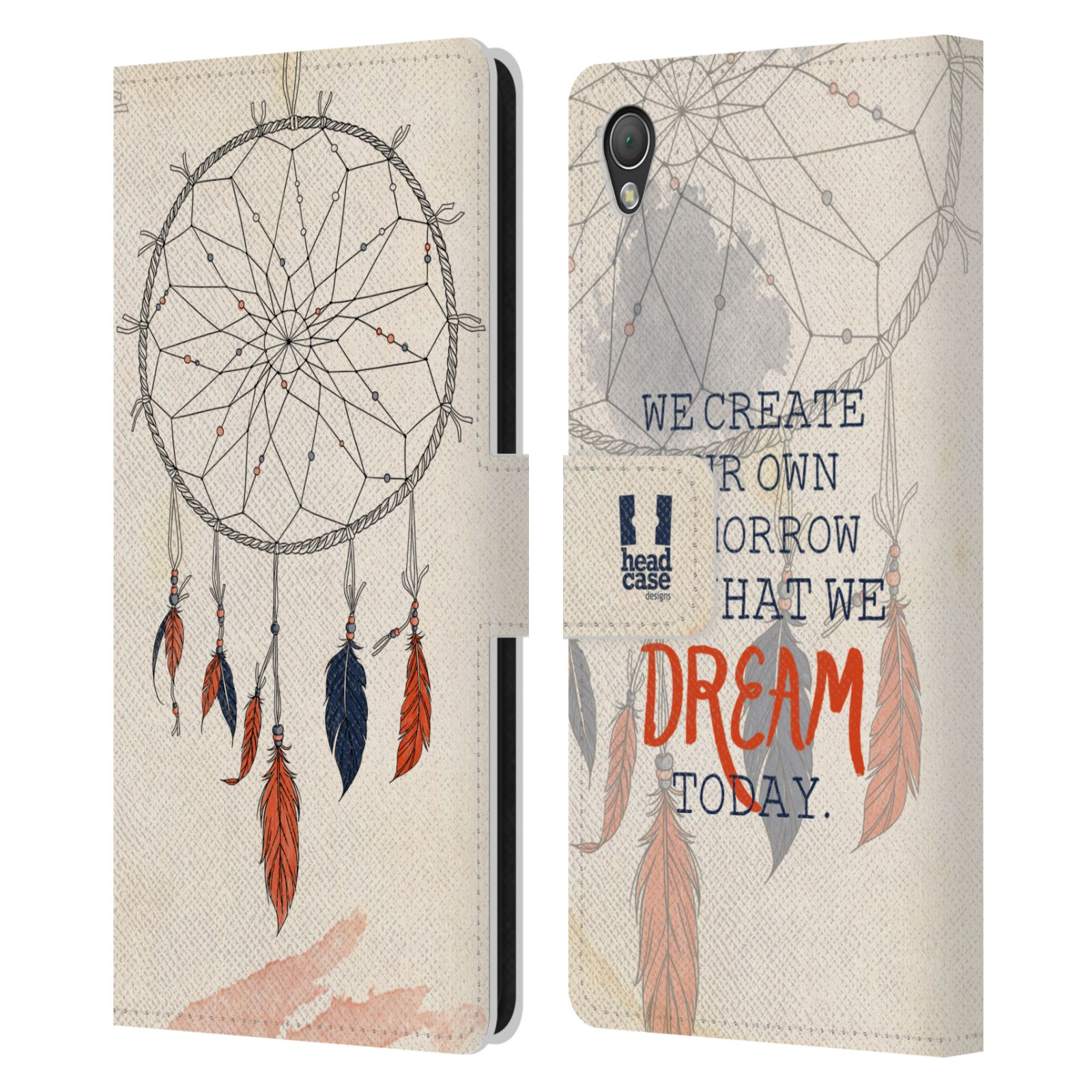 Leather Book Cover Ideas ~ Head case designs dreamcatchers leather book wallet