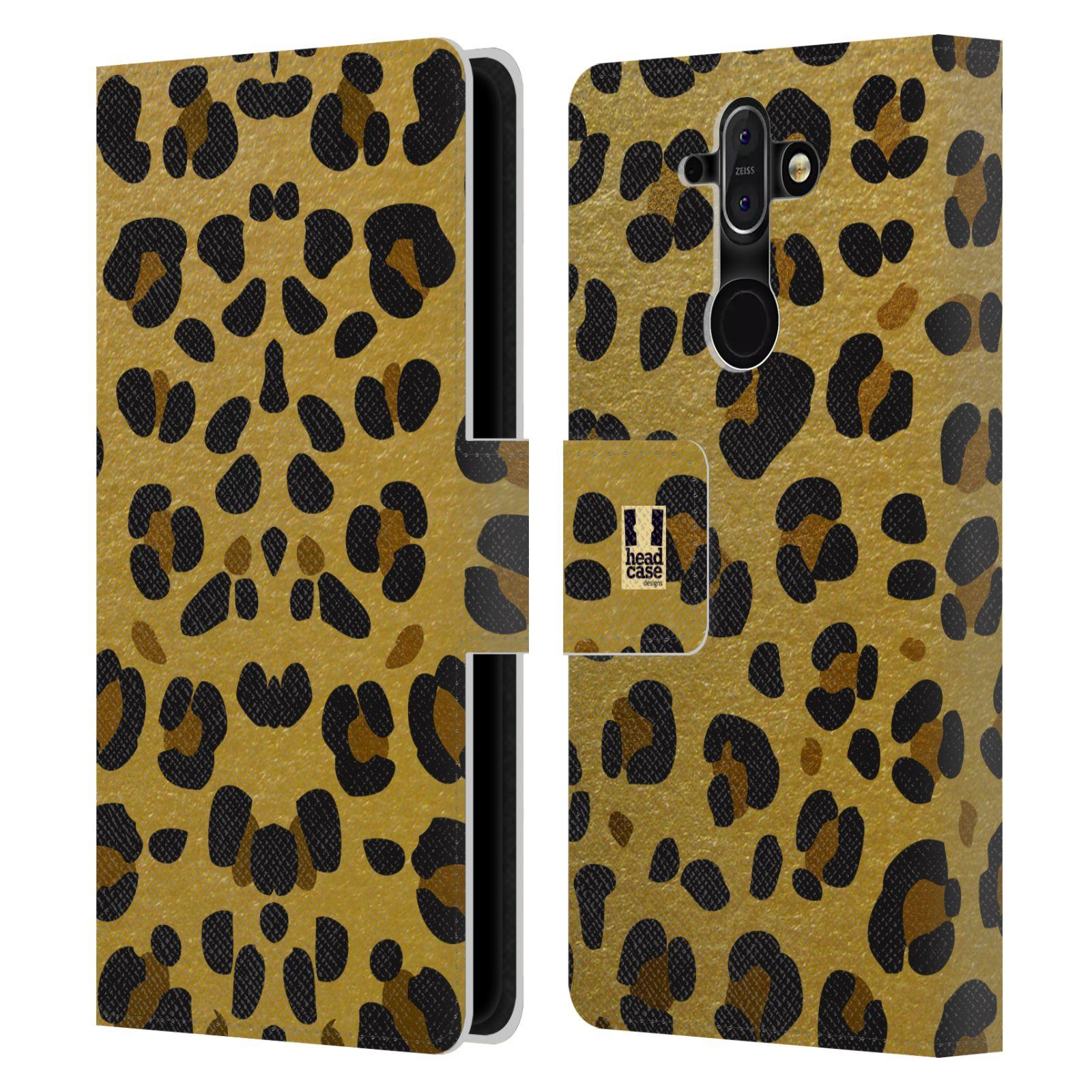 Pouzdro na mobil Nokia 8 Sirocco - Head Case - Fashion zvířecí vzor