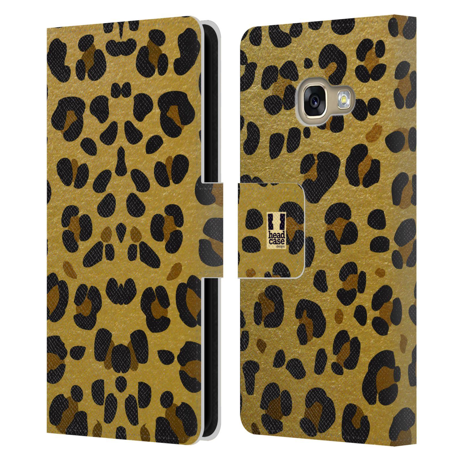 Pouzdro na mobil Samsung Galaxy A3 2017 - Head Case - Fashion zvířecí vzor