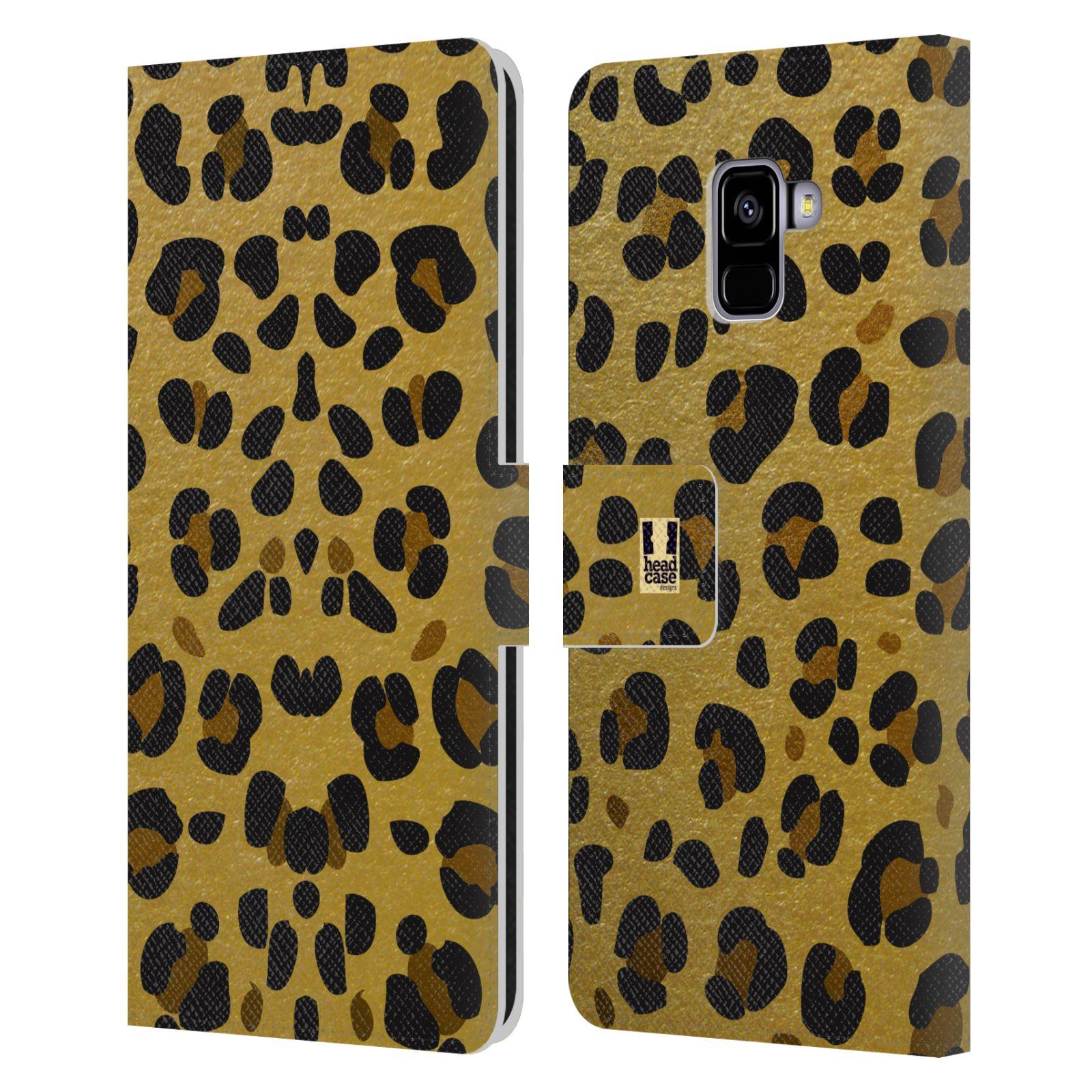 Pouzdro na mobil Samsung Galaxy A8 PLUS 2018 - Head Case - Fashion zvířecí vzor