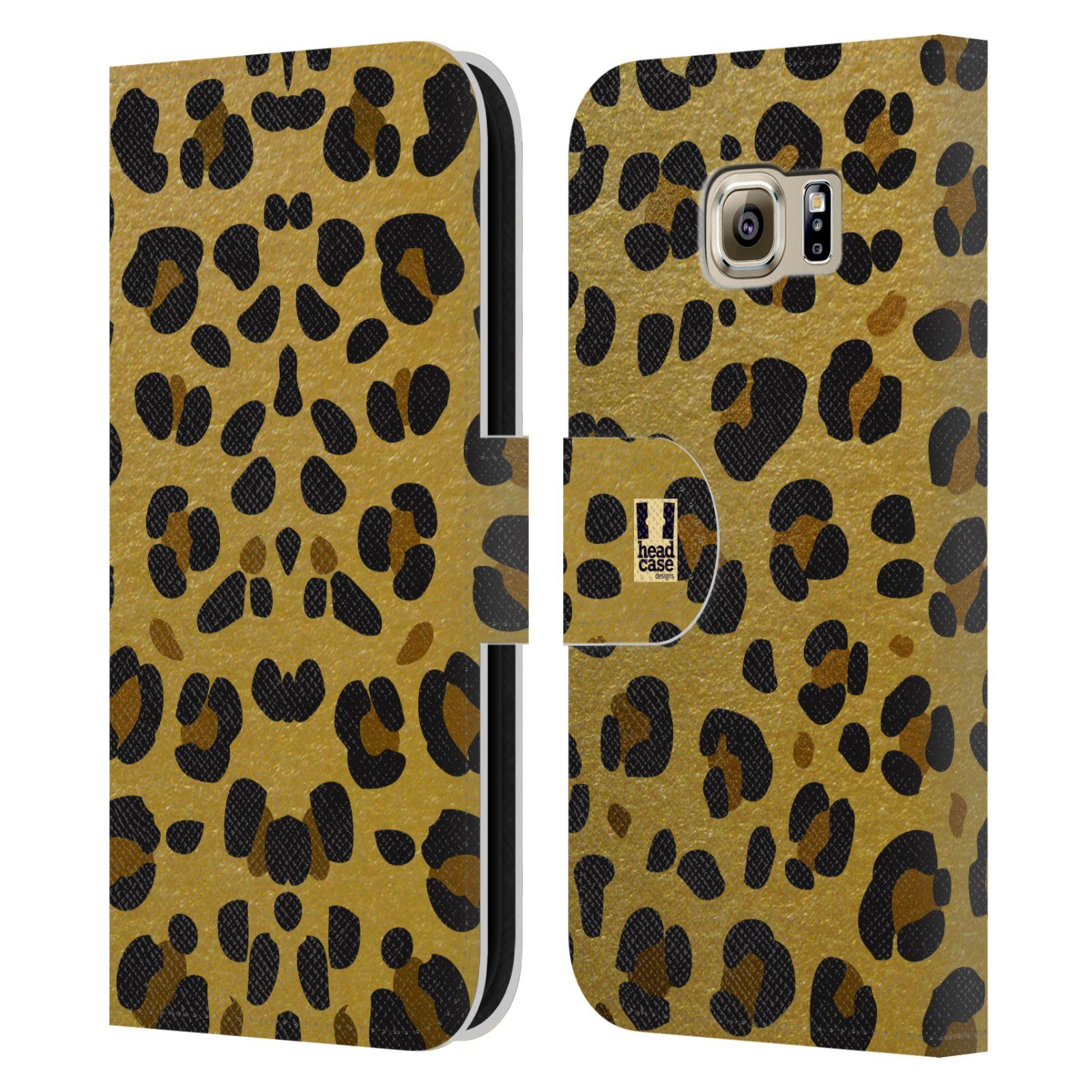 Pouzdro na mobil Samsung Galaxy S6 - Head Case - Fashion zvířecí vzor
