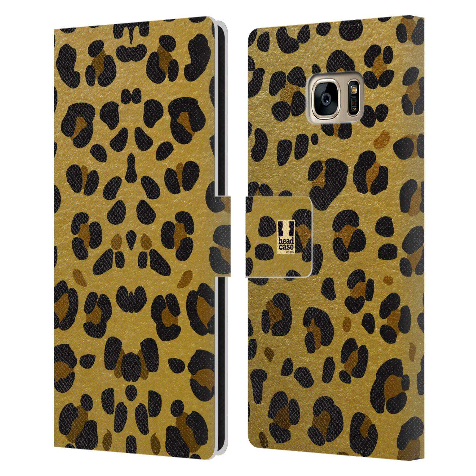 Pouzdro na mobil Samsung Galaxy S7 Edge - Head Case - Fashion zvířecí vzor