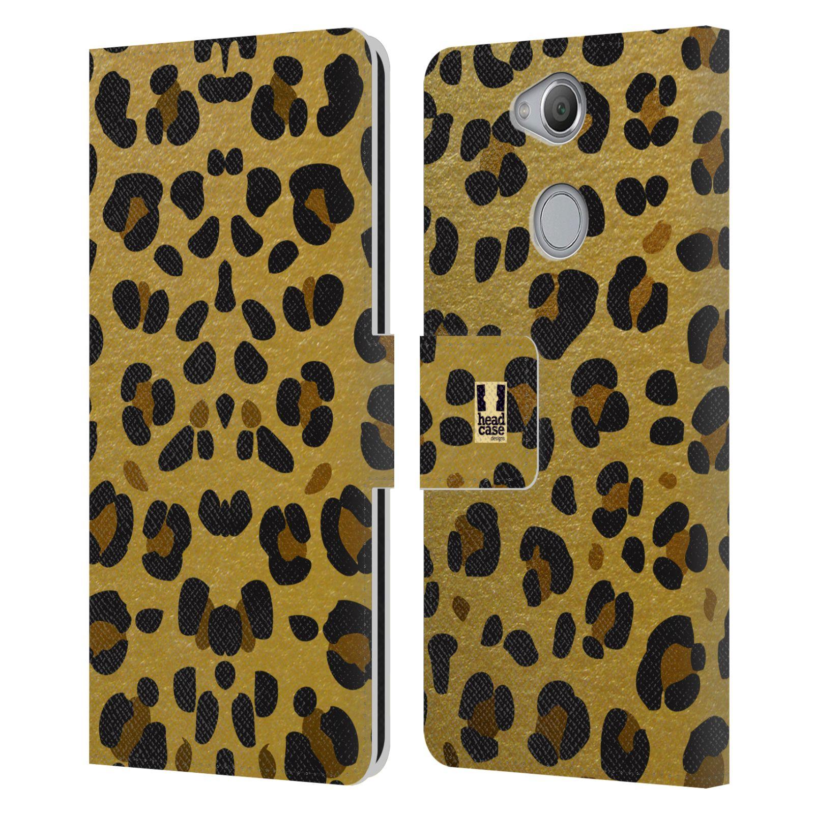 Pouzdro na mobil Sony Xperia XA2 - Head Case - Fashion zvířecí vzor