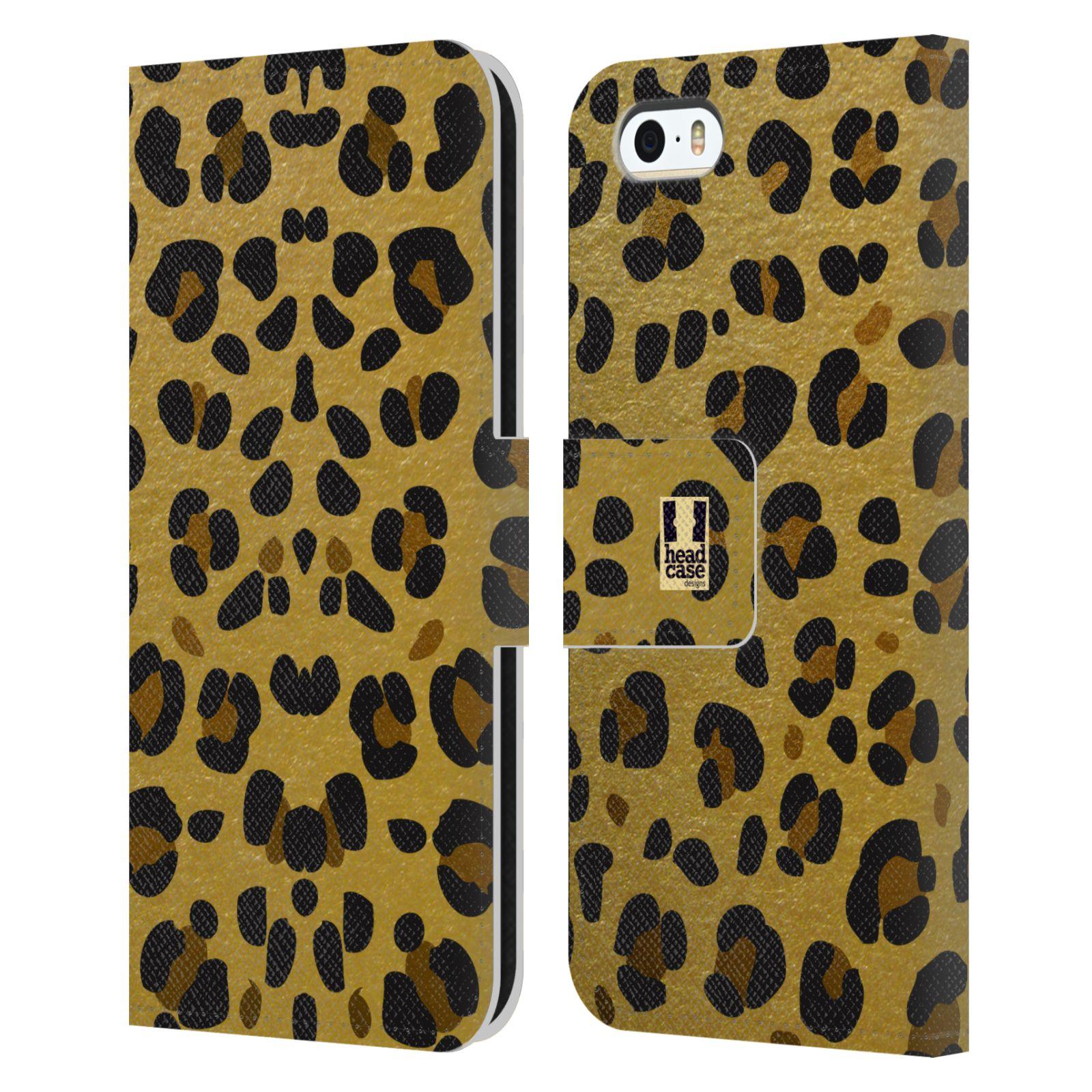 Pouzdro na mobil Apple Iphone 5 / 5S - Head Case - Fashion zvířecí vzor