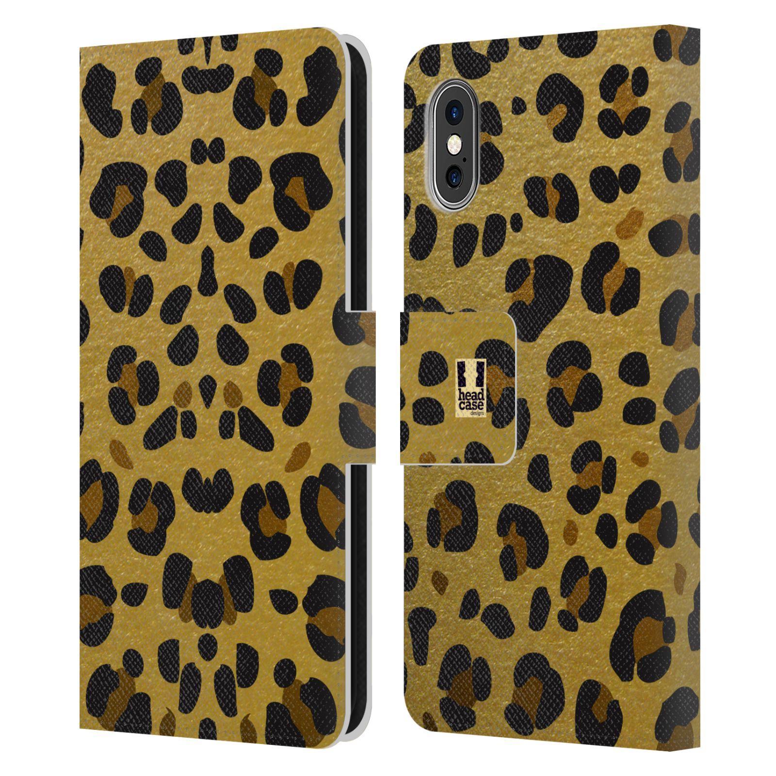 Pouzdro na mobil Apple Iphone X / XS - Head Case - Fashion zvířecí vzor
