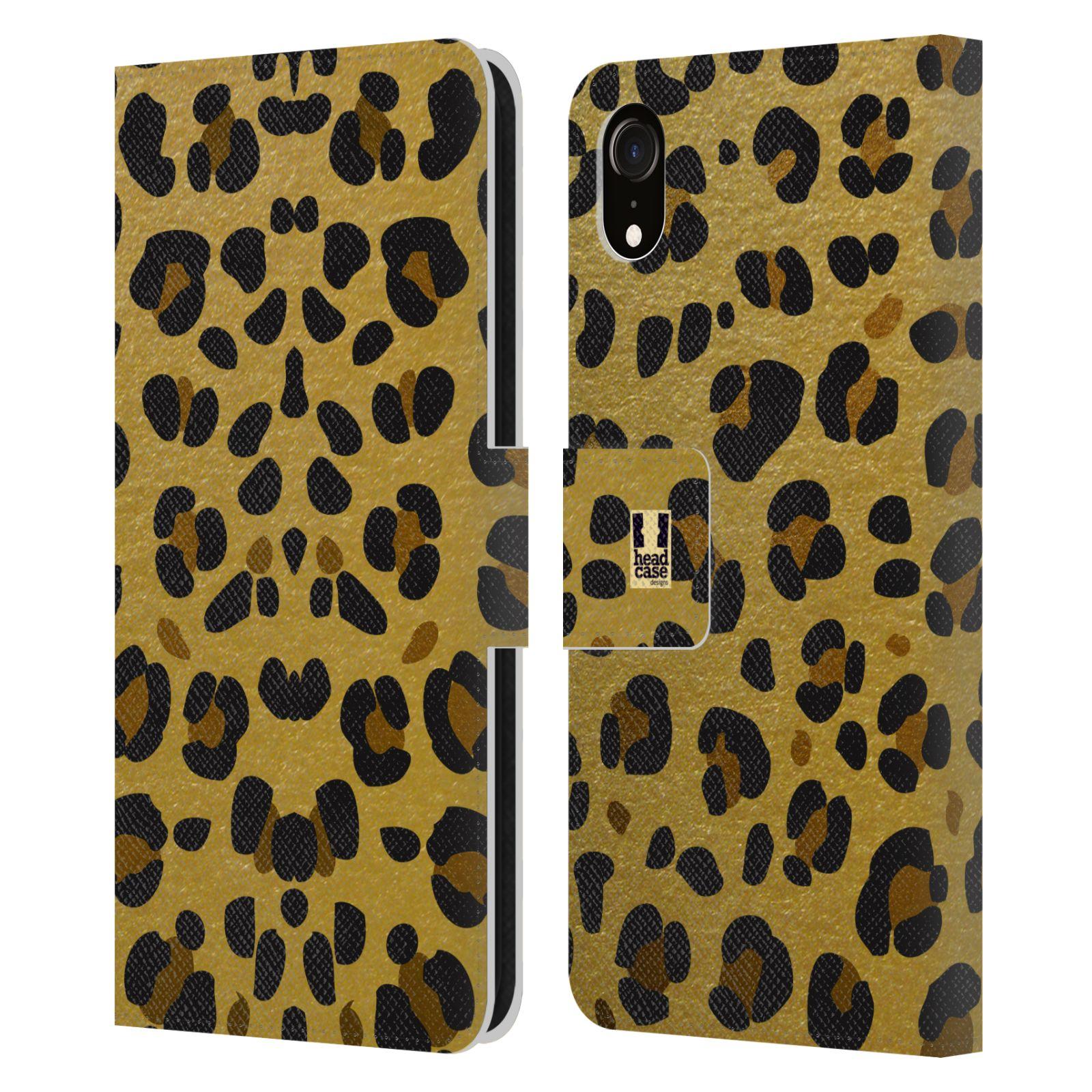 Pouzdro na mobil Apple Iphone XR - Head Case - Fashion zvířecí vzor