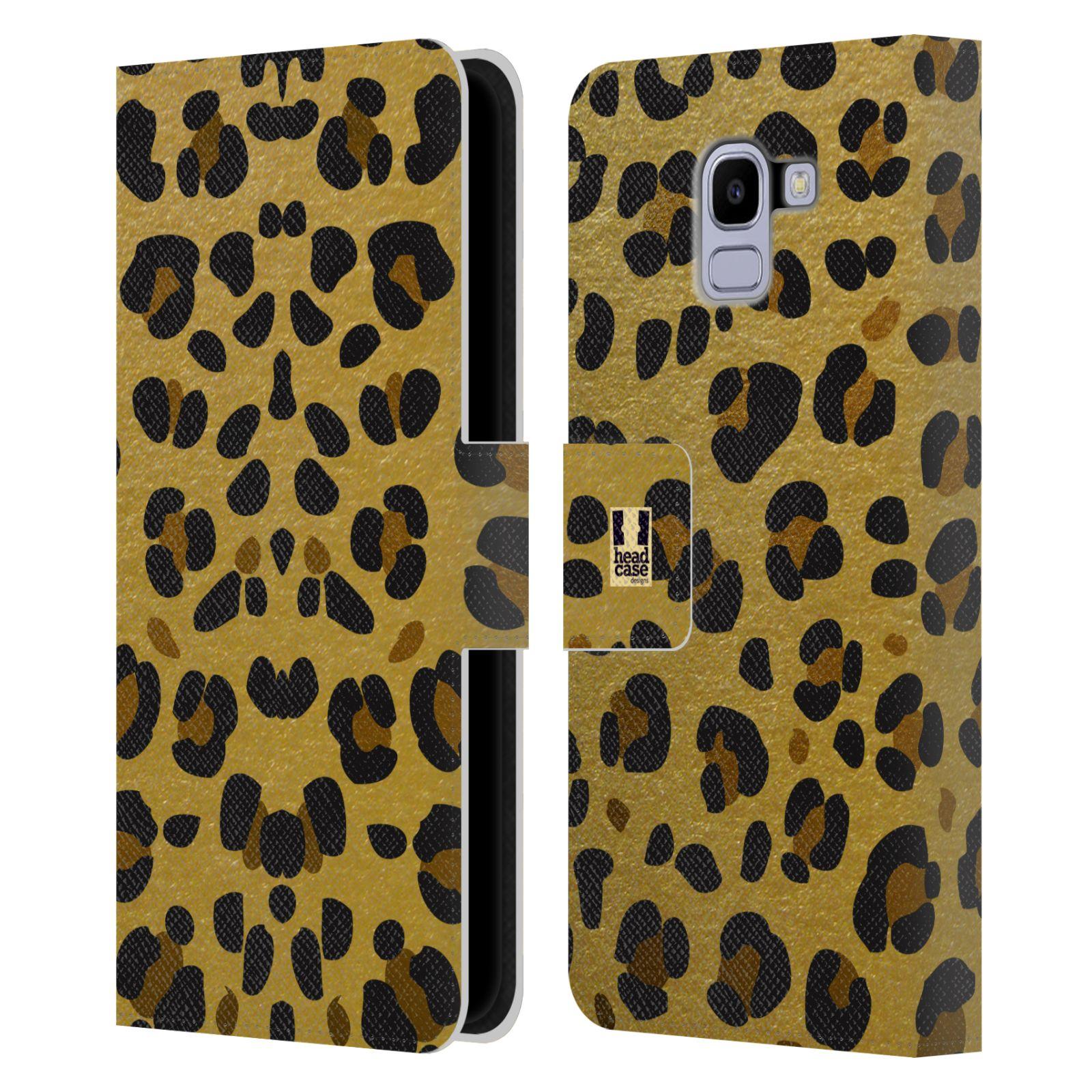 Pouzdro na mobil Samsung Galaxy J6 - Head Case - Fashion zvířecí vzor