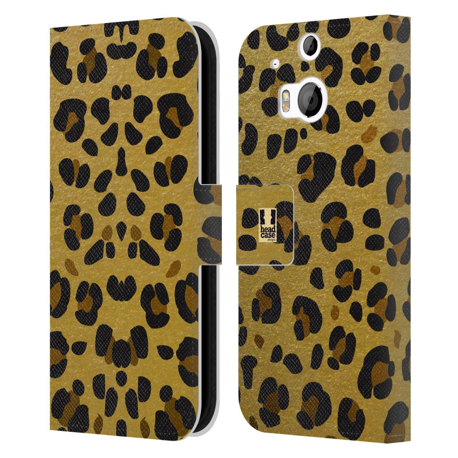 Pouzdro na mobil HTC One M8, M8s - Head Case - Fashion zvířecí vzor