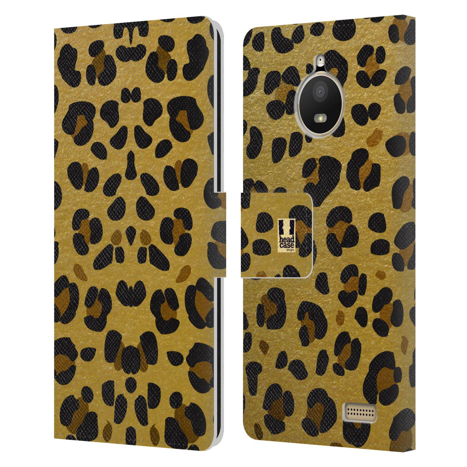 Pouzdro na mobil Lenovo Moto E4 - Head Case - Fashion zvířecí vzor
