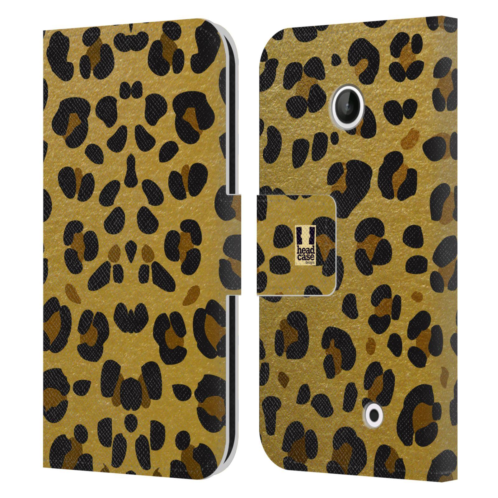 Pouzdro na mobil Nokia Lumia 630 - Head Case - Fashion zvířecí vzor