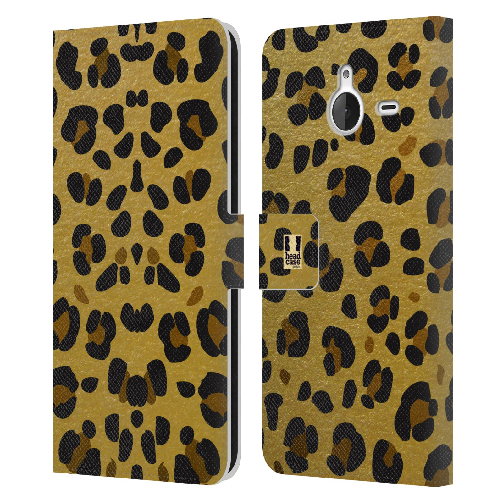 Pouzdro na mobil Nokia Lumia 640 XL - Head Case - Fashion zvířecí vzor