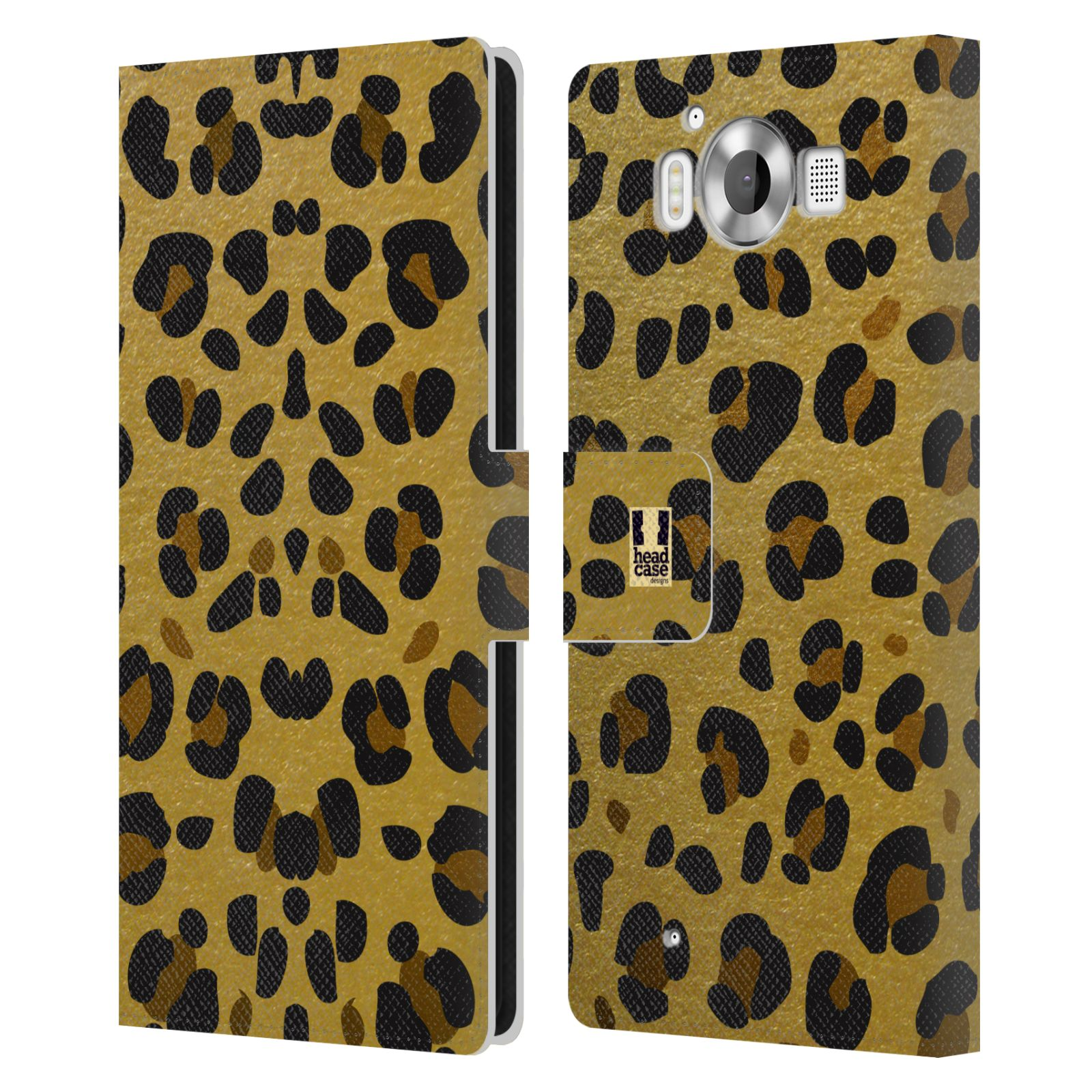 Pouzdro na mobil Nokia Lumia 950 - Head Case - Fashion zvířecí vzor