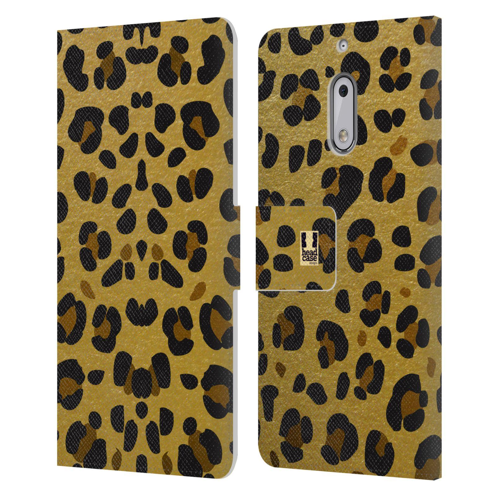 Pouzdro na mobil Nokia 6 - Head Case - Fashion zvířecí vzor