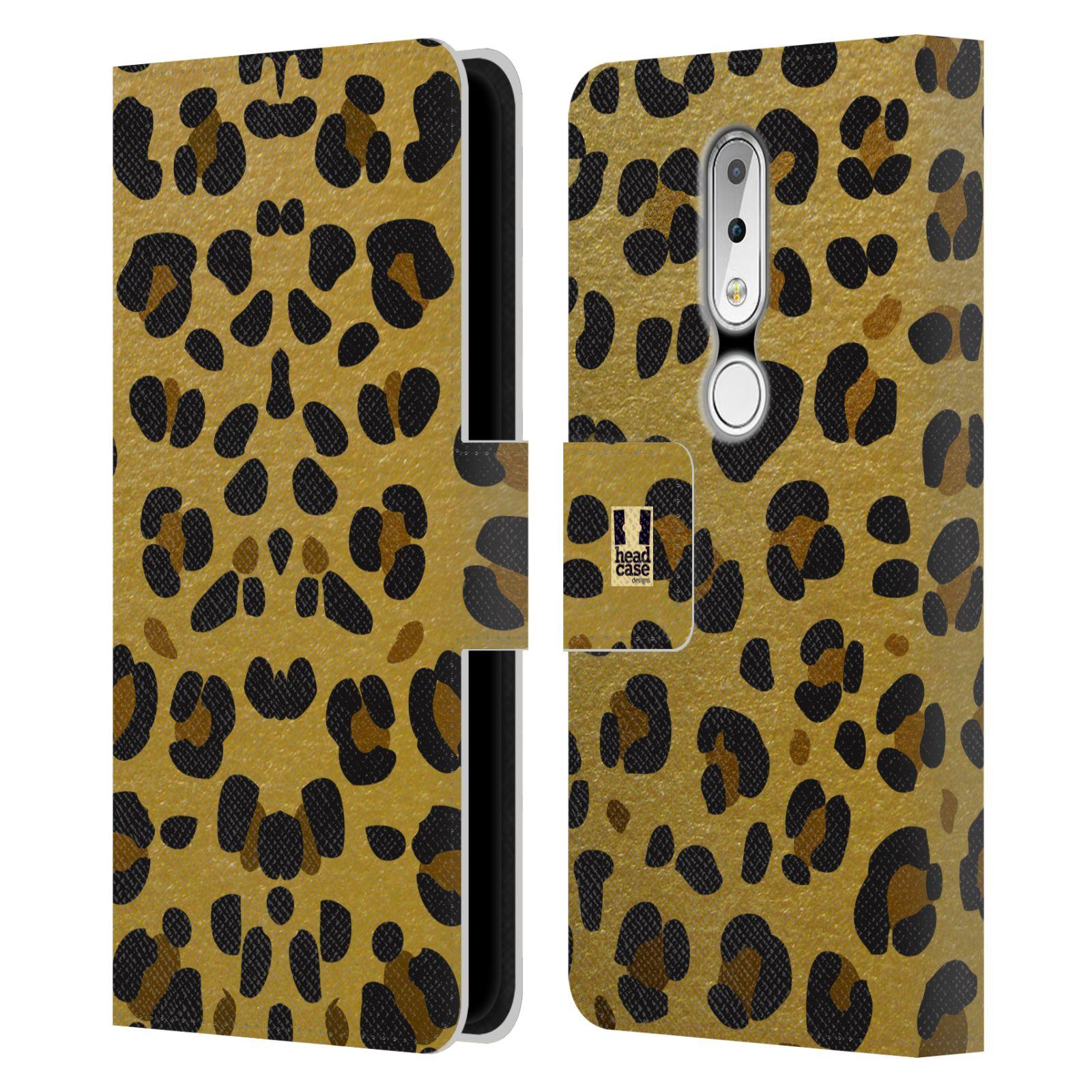 Pouzdro na mobil Nokia 6.1 Plus - Head Case - Fashion zvířecí vzor