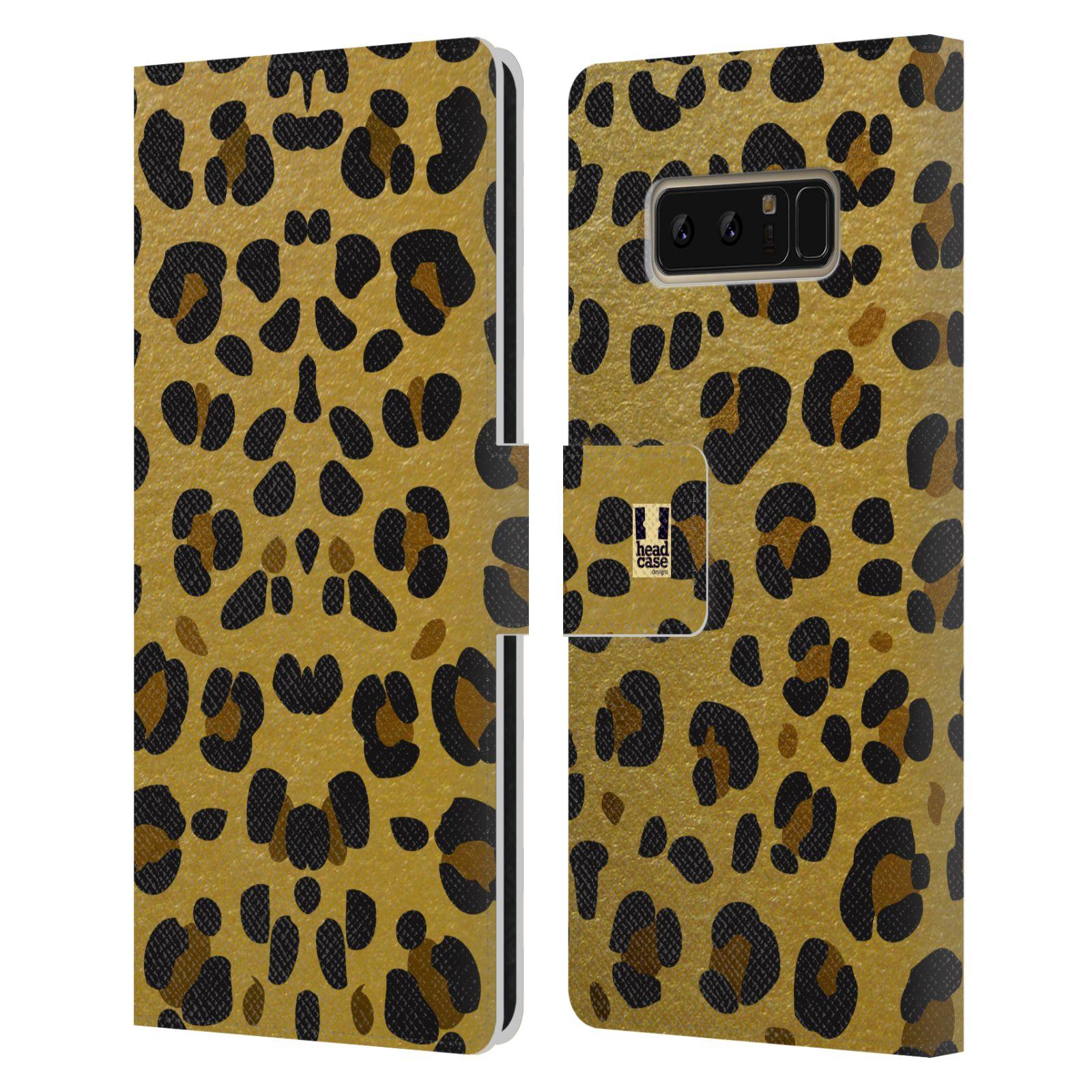 Pouzdro na mobil Samsung Galaxy NOTE 8 - Head Case - Fashion zvířecí vzor