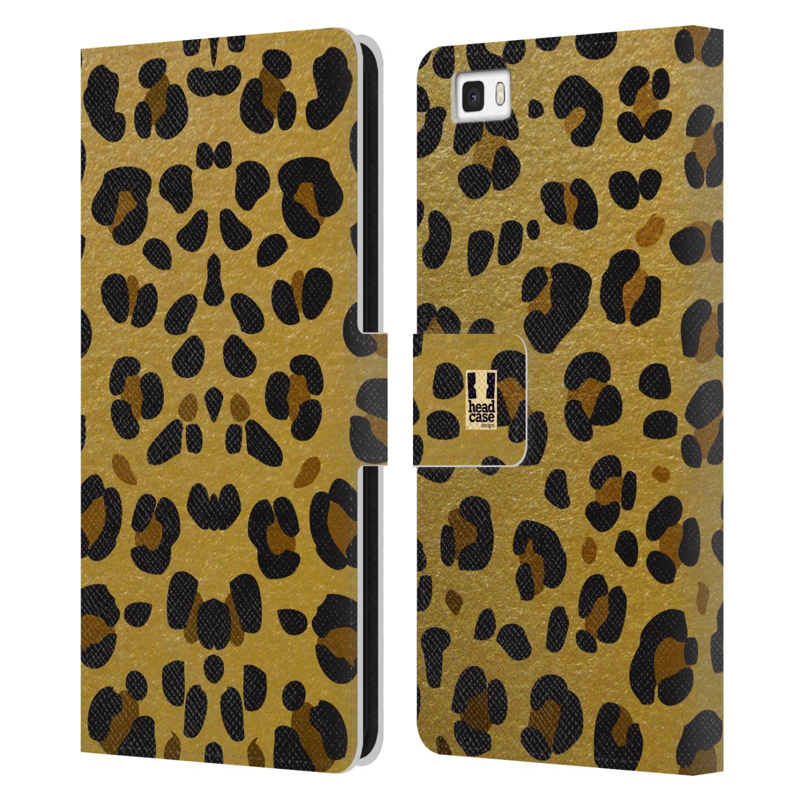 Pouzdro na mobil Huawei P8 Lite - Head Case - Fashion zvířecí vzor