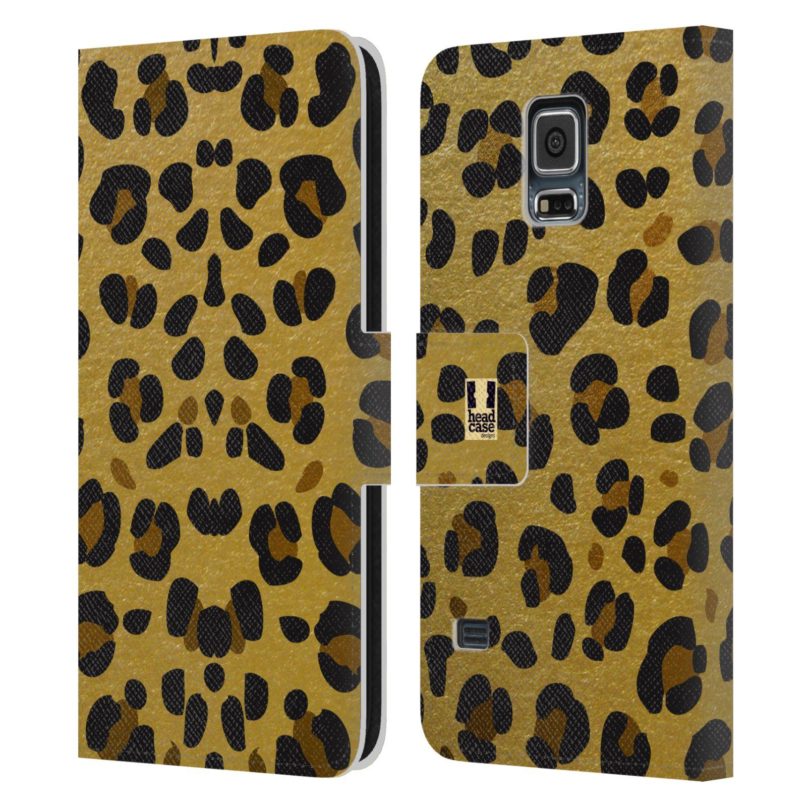 Pouzdro na mobil Samsung Galaxy S5 - Head Case - Fashion zvířecí vzor