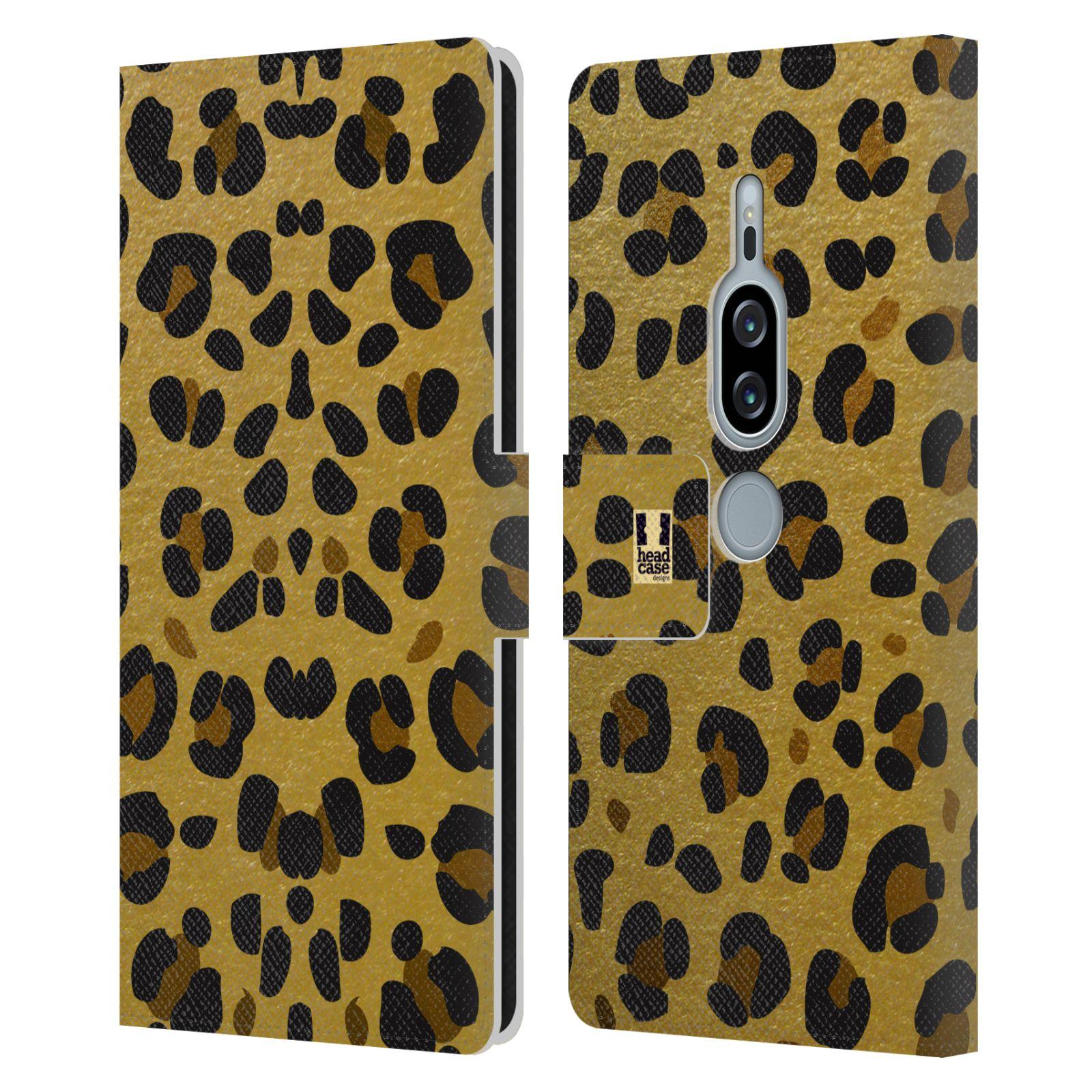 Pouzdro na mobil Sony Xperia XZ2 Premium - Head Case - Fashion zvířecí vzor